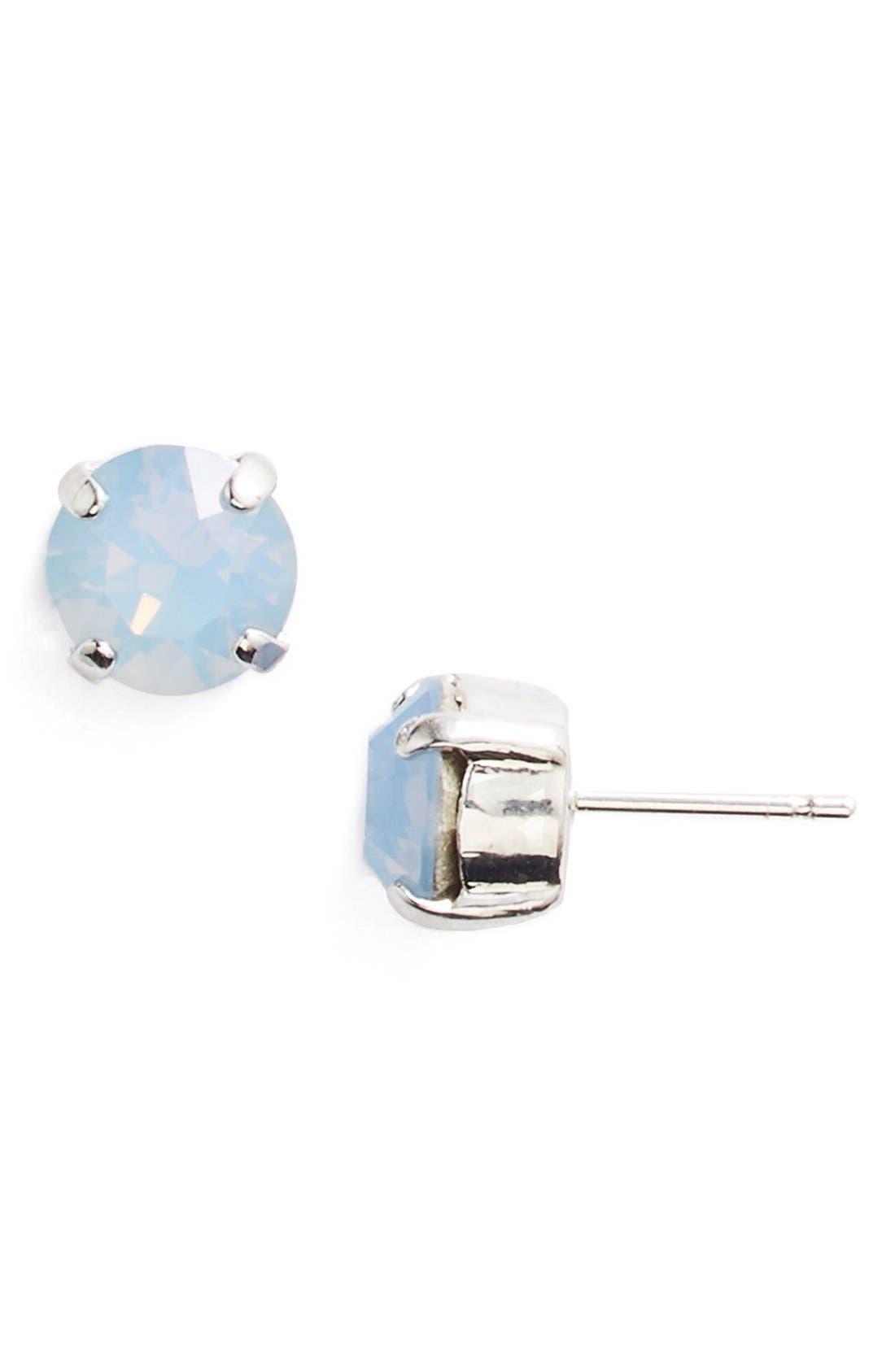 'Grace' Crystal Stud Earrings,                             Main thumbnail 5, color,