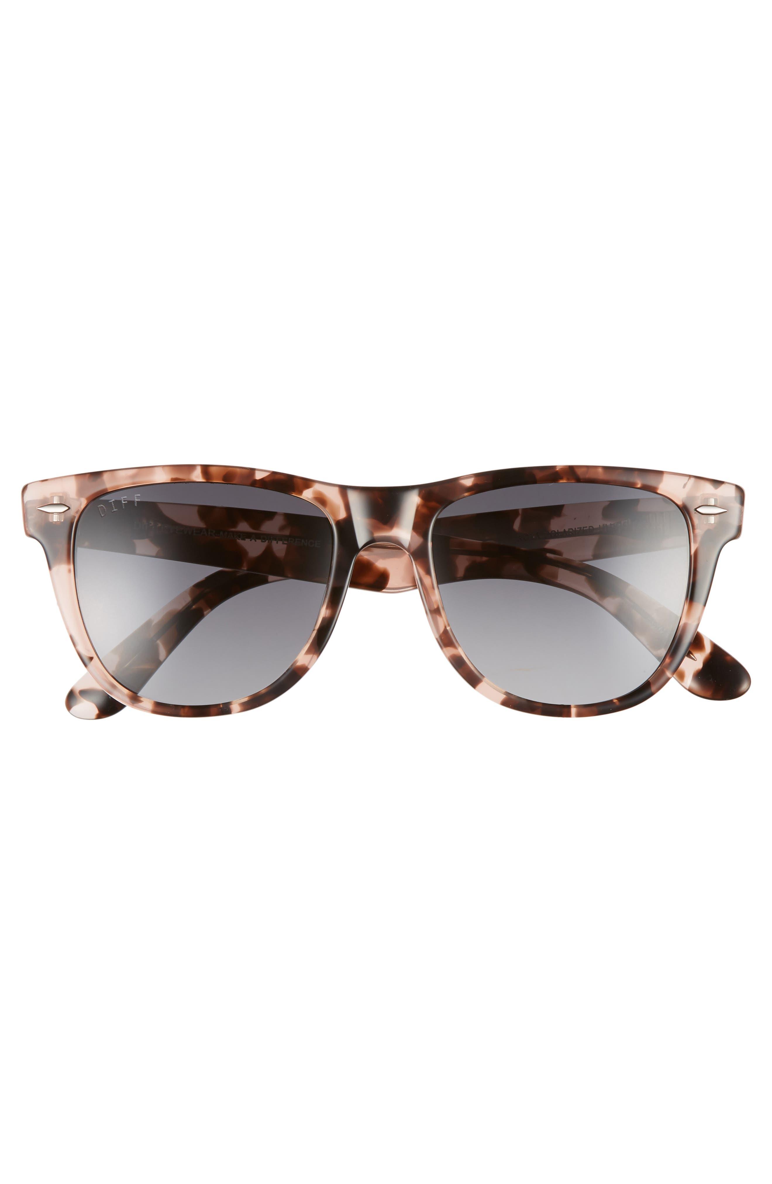 Kota 51mm Gradient Polarized Cat Eye Sunglasses,                             Alternate thumbnail 3, color,                             HIMALYAN/ GREY