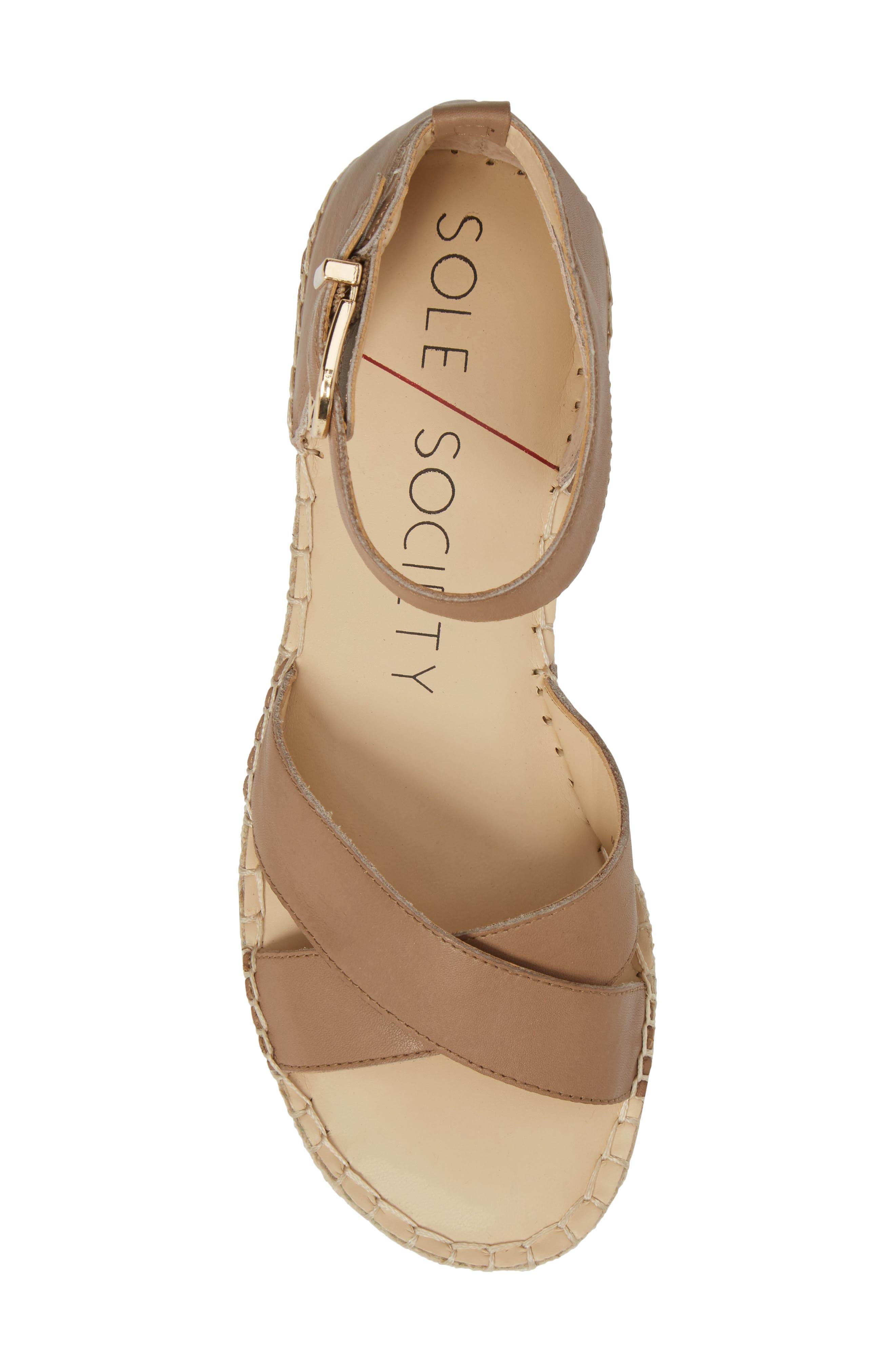Saundra Espadrille Sandal,                             Alternate thumbnail 18, color,