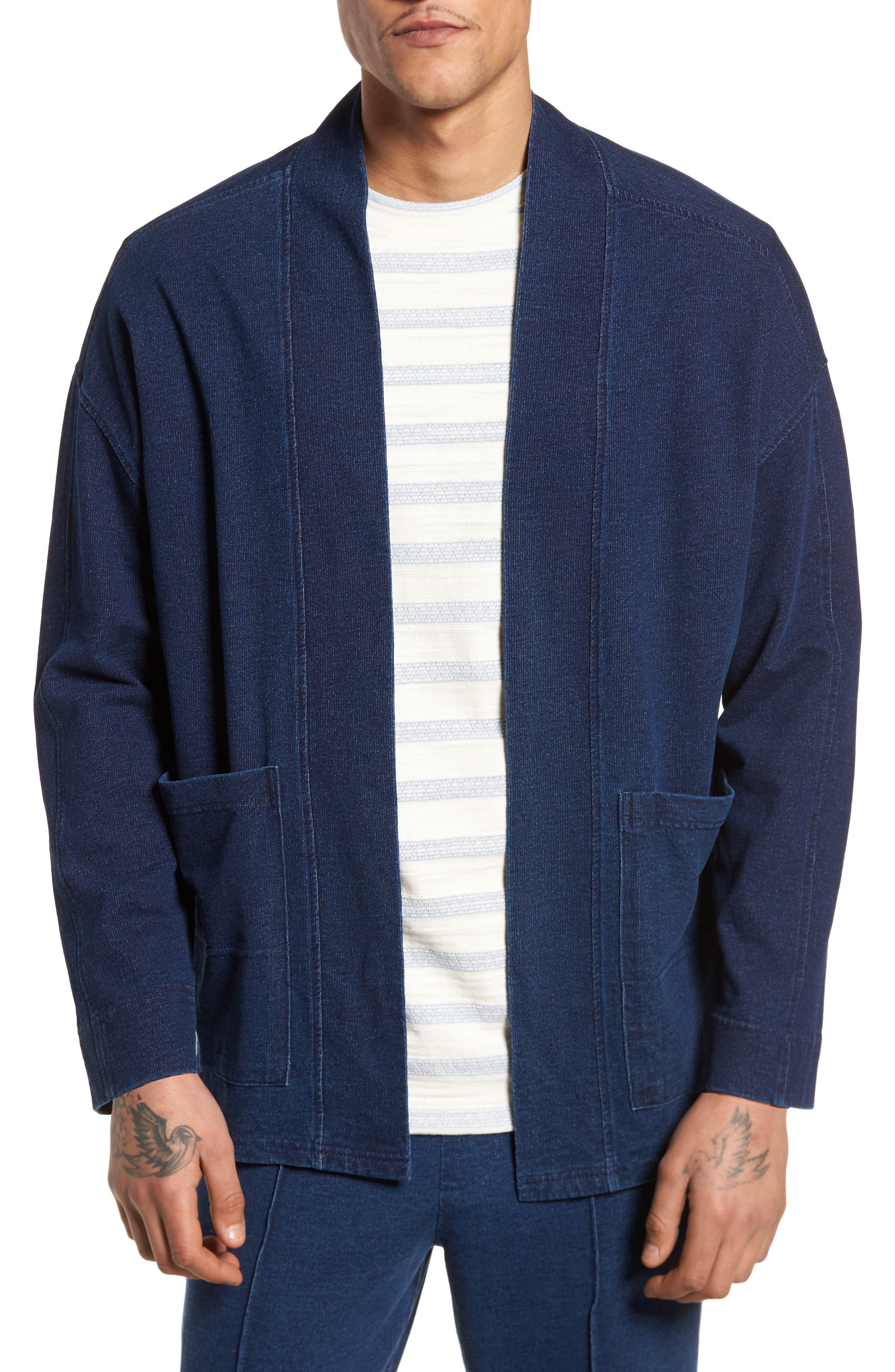 Marine Kimono Jacket,                             Main thumbnail 1, color,                             400