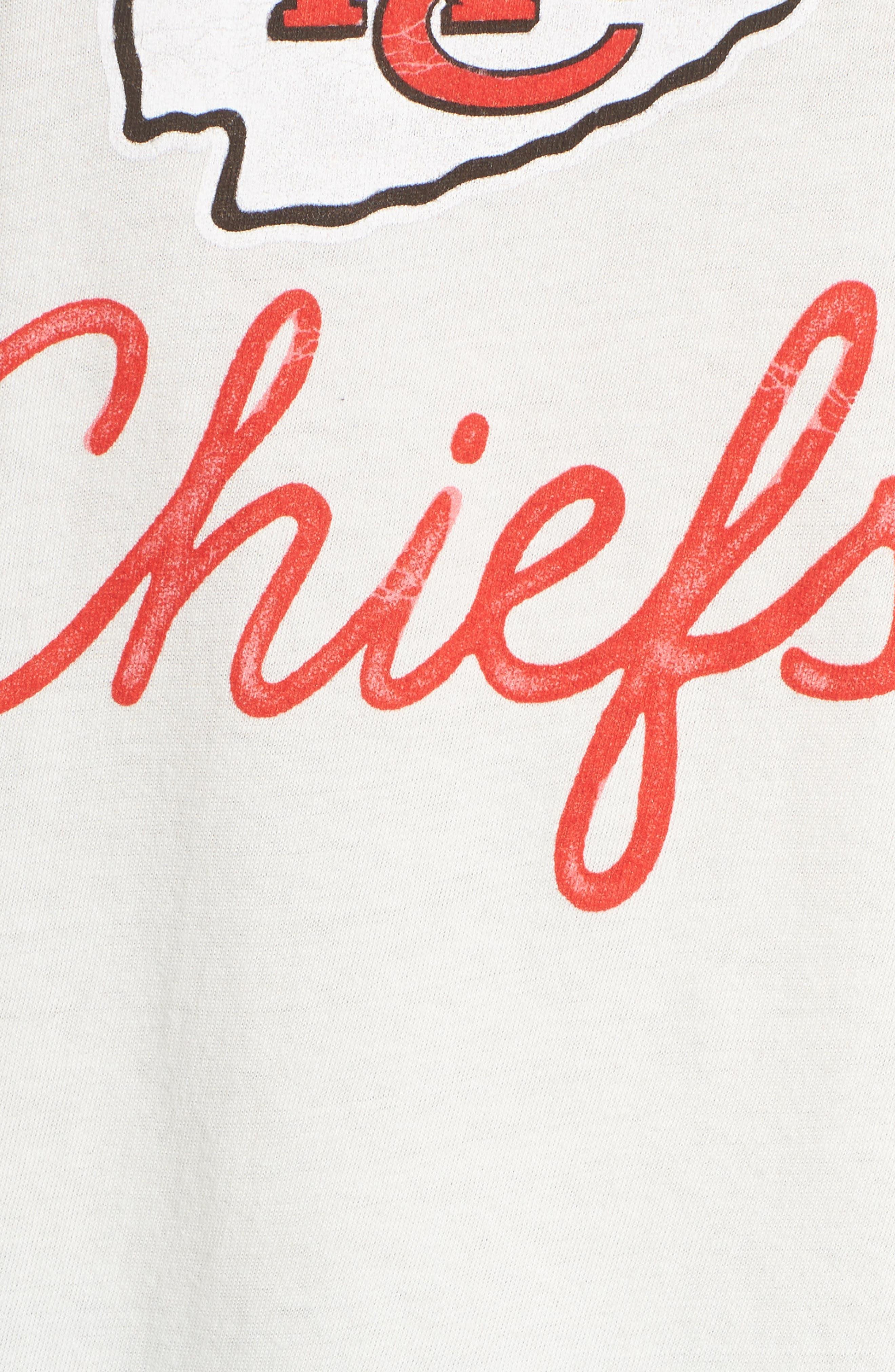 NFL Kansas City Chiefs Raglan Tee,                             Alternate thumbnail 5, color,                             189