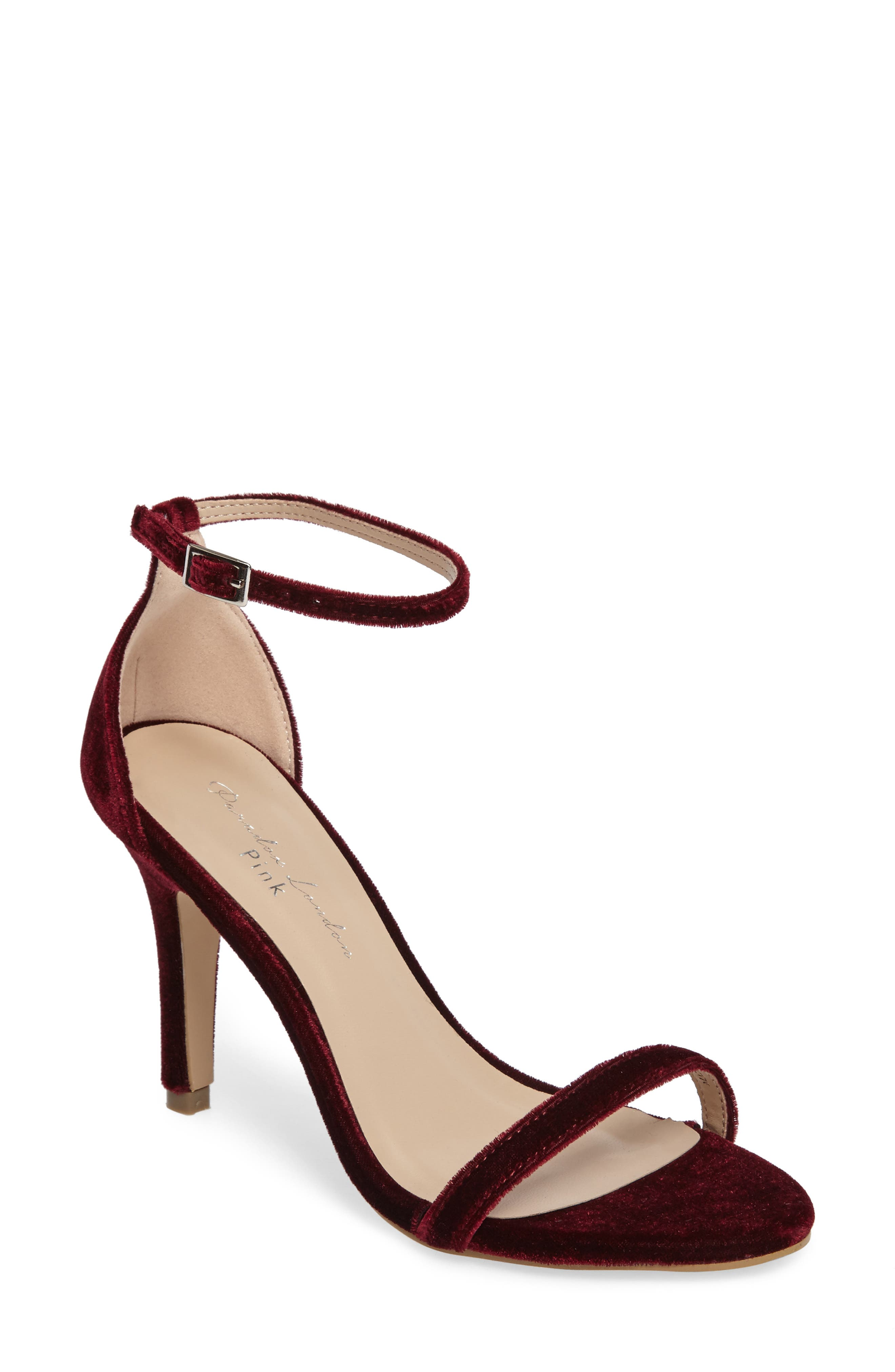 Mini Ankle Strap Sandal,                             Main thumbnail 2, color,
