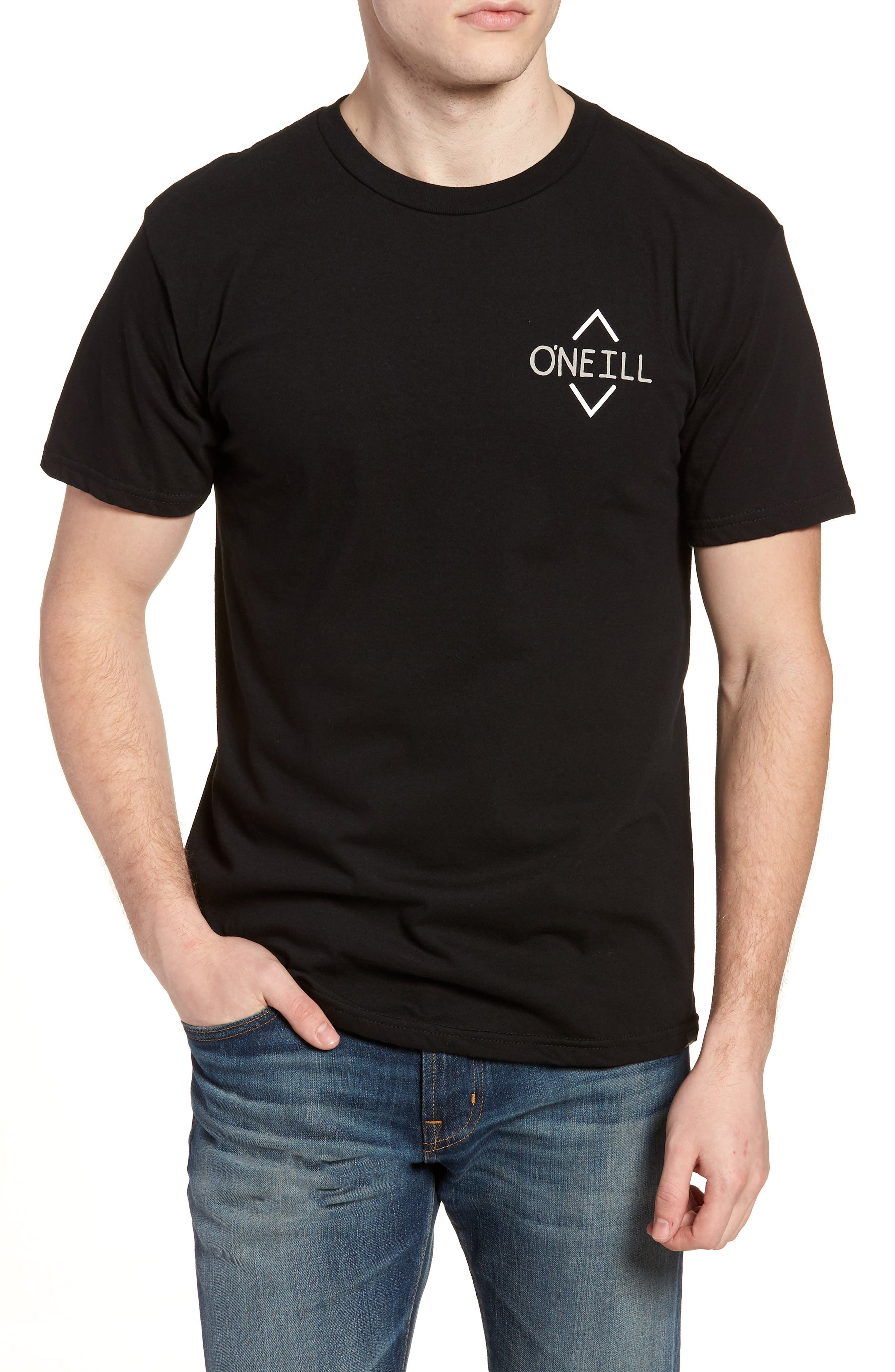 Fisher Graphic T-Shirt,                             Main thumbnail 1, color,                             001