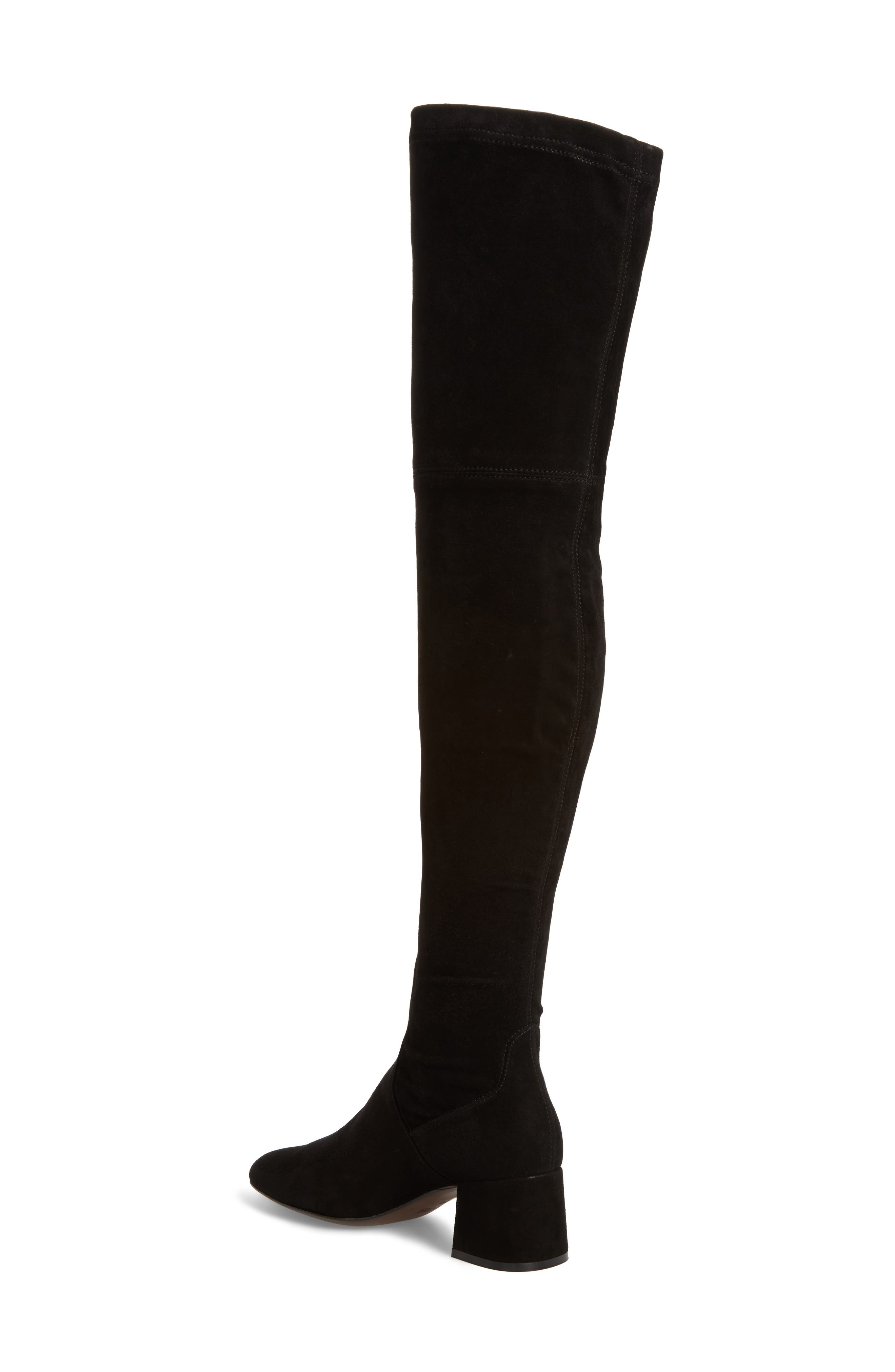 Over the Knee Boot,                             Alternate thumbnail 2, color,                             002