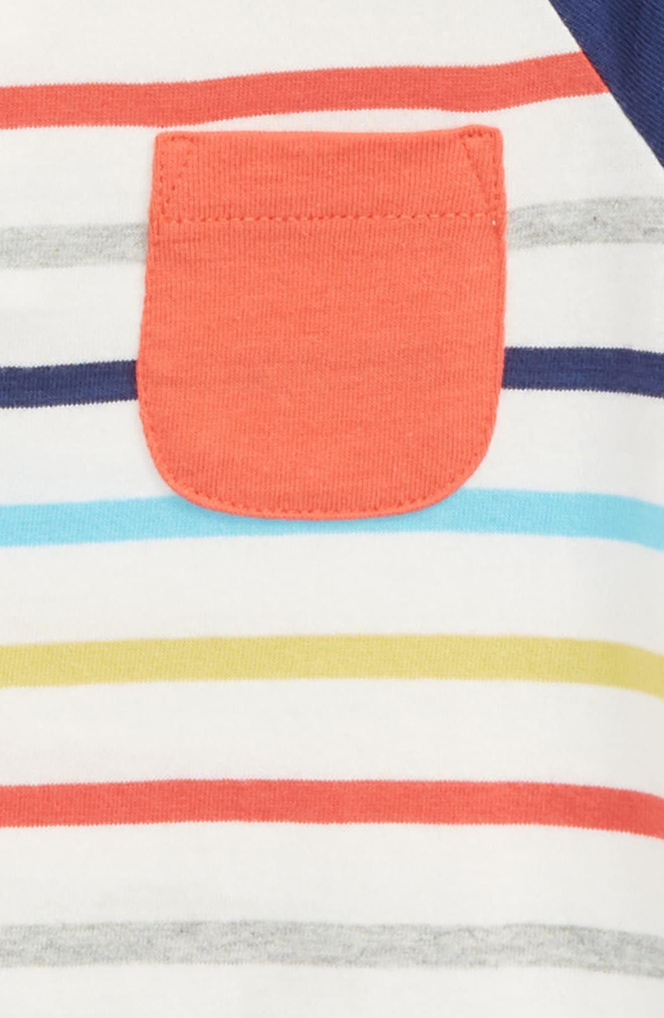 Stripe Romper,                             Alternate thumbnail 2, color,                             FUN STRIPE