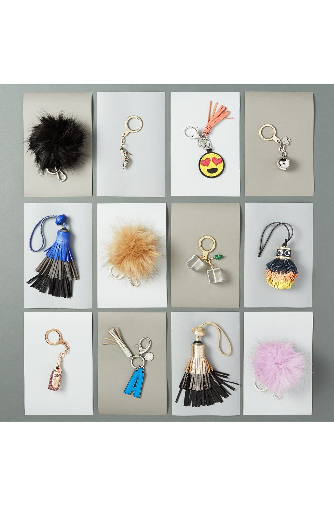 'Hubba Hubba' Bag Charm,                             Alternate thumbnail 3, color,                             700