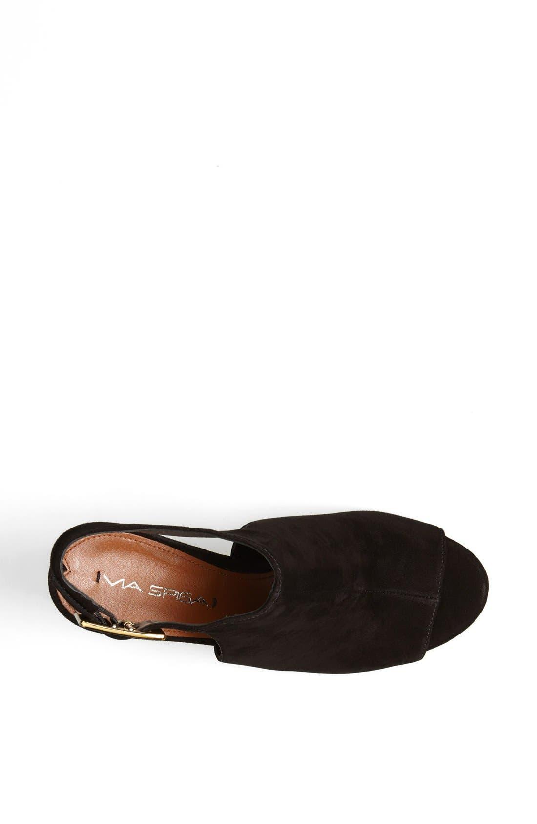 'Nino' Ankle Strap Sandal,                             Alternate thumbnail 3, color,                             002