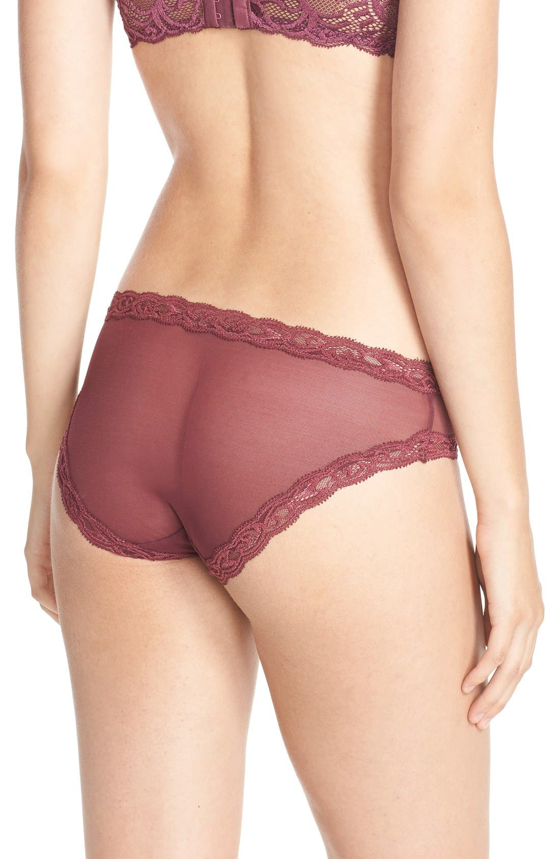 Feathers Hipster Briefs,                             Alternate thumbnail 303, color,