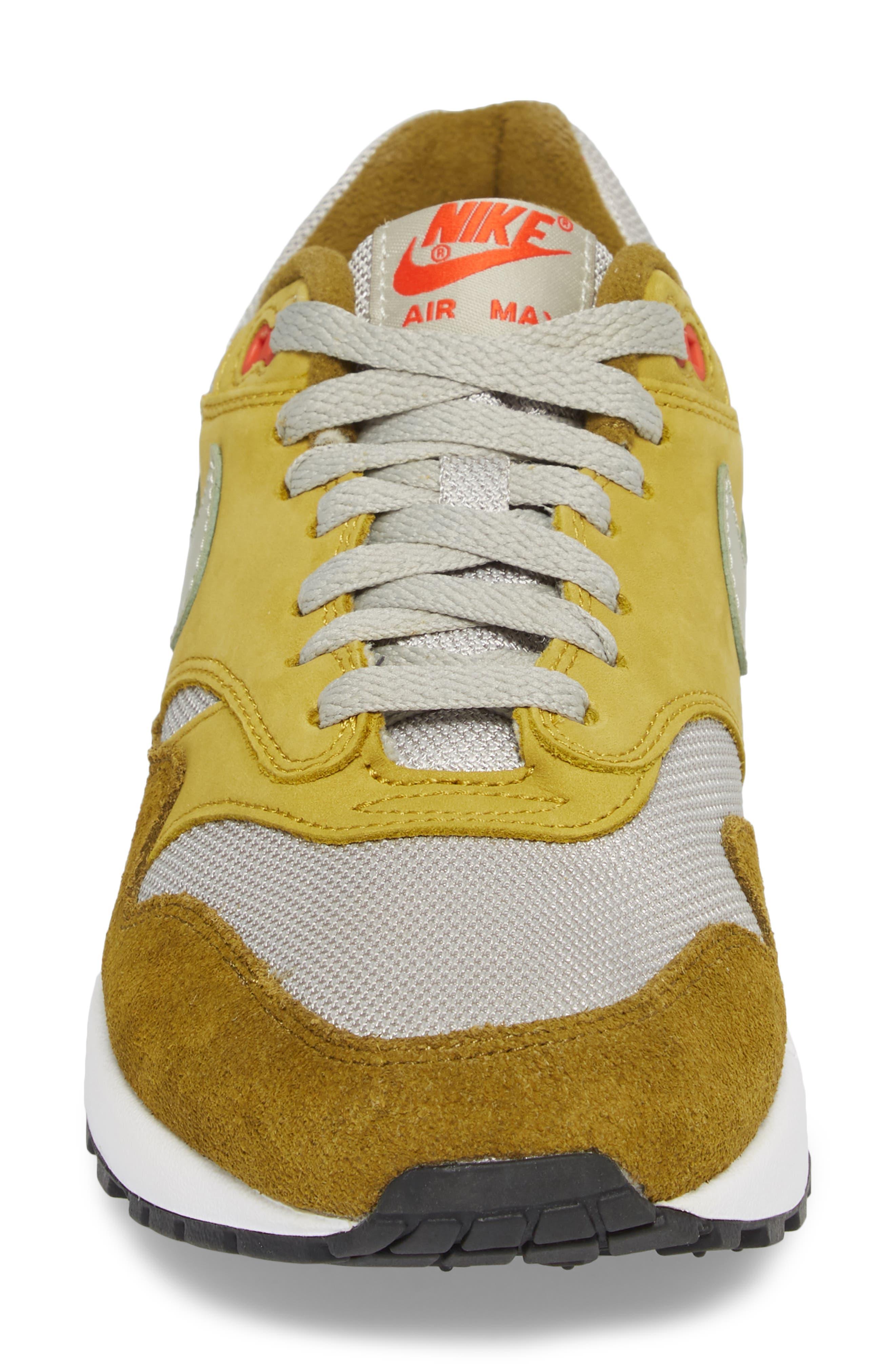 Air Max 1 Premium Retro Sneaker,                             Alternate thumbnail 7, color,