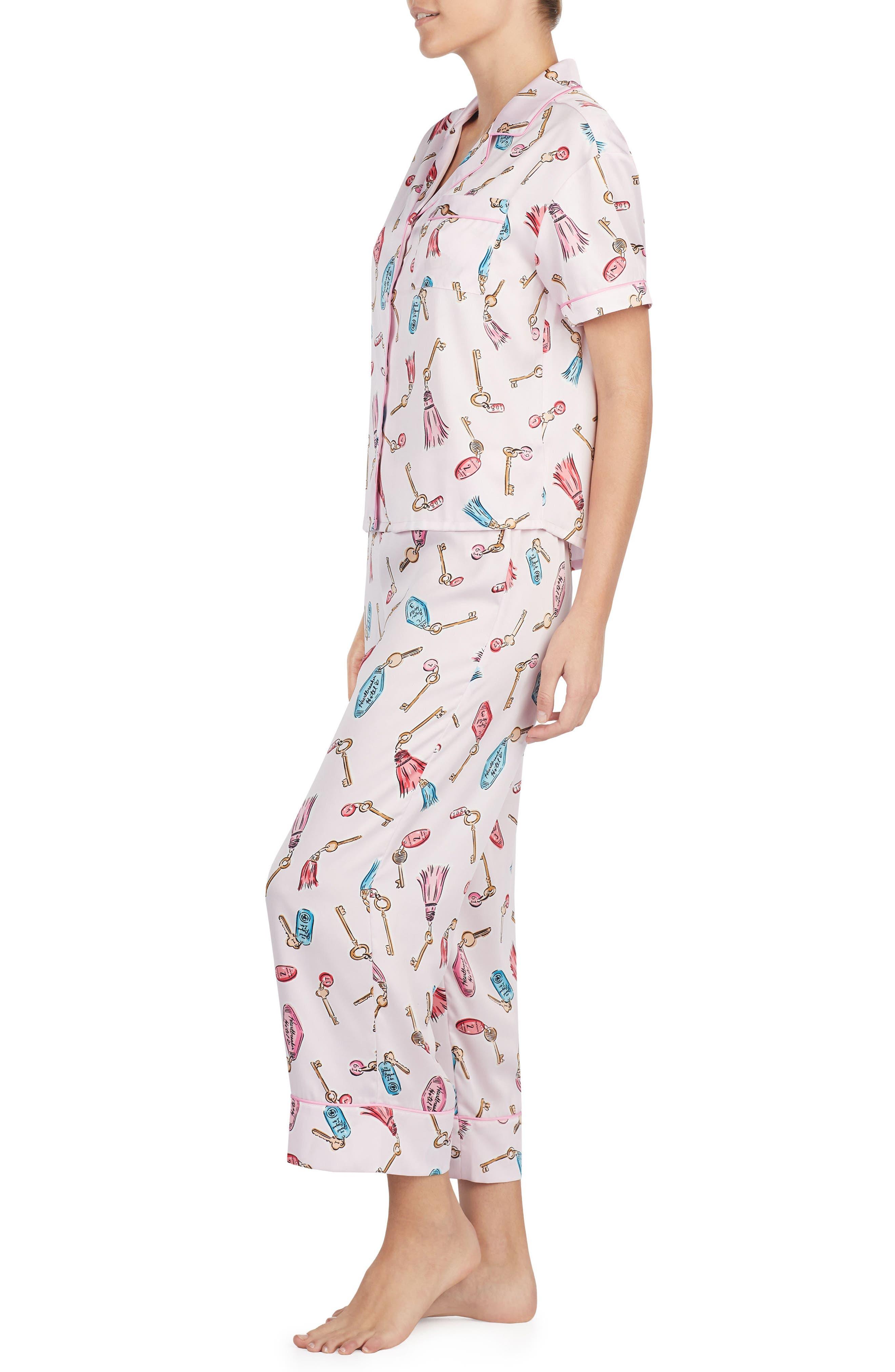 print pajamas,                             Alternate thumbnail 9, color,