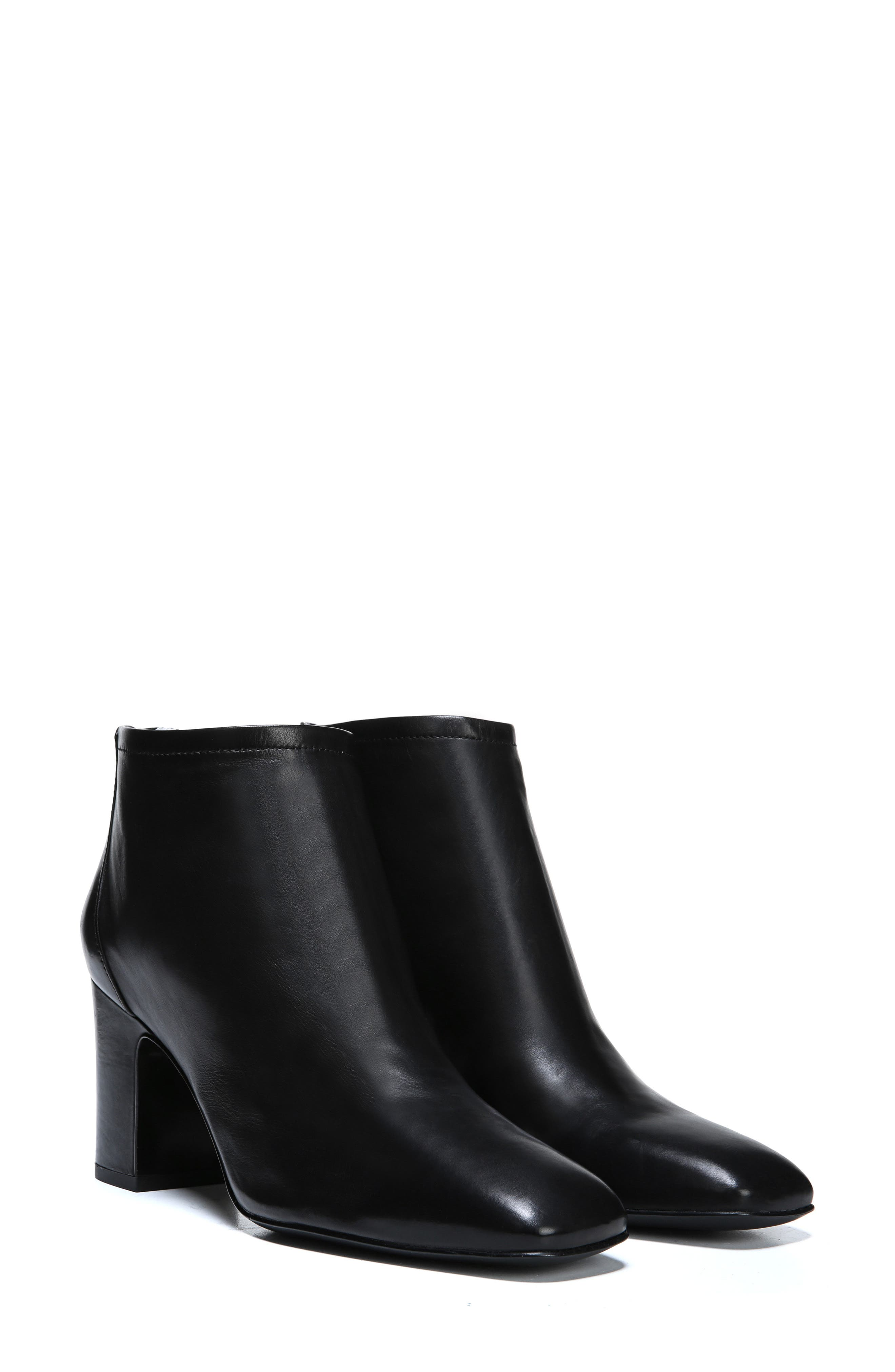 Jacoby Bootie,                             Alternate thumbnail 8, color,                             BLACK STRETCH LEATHER