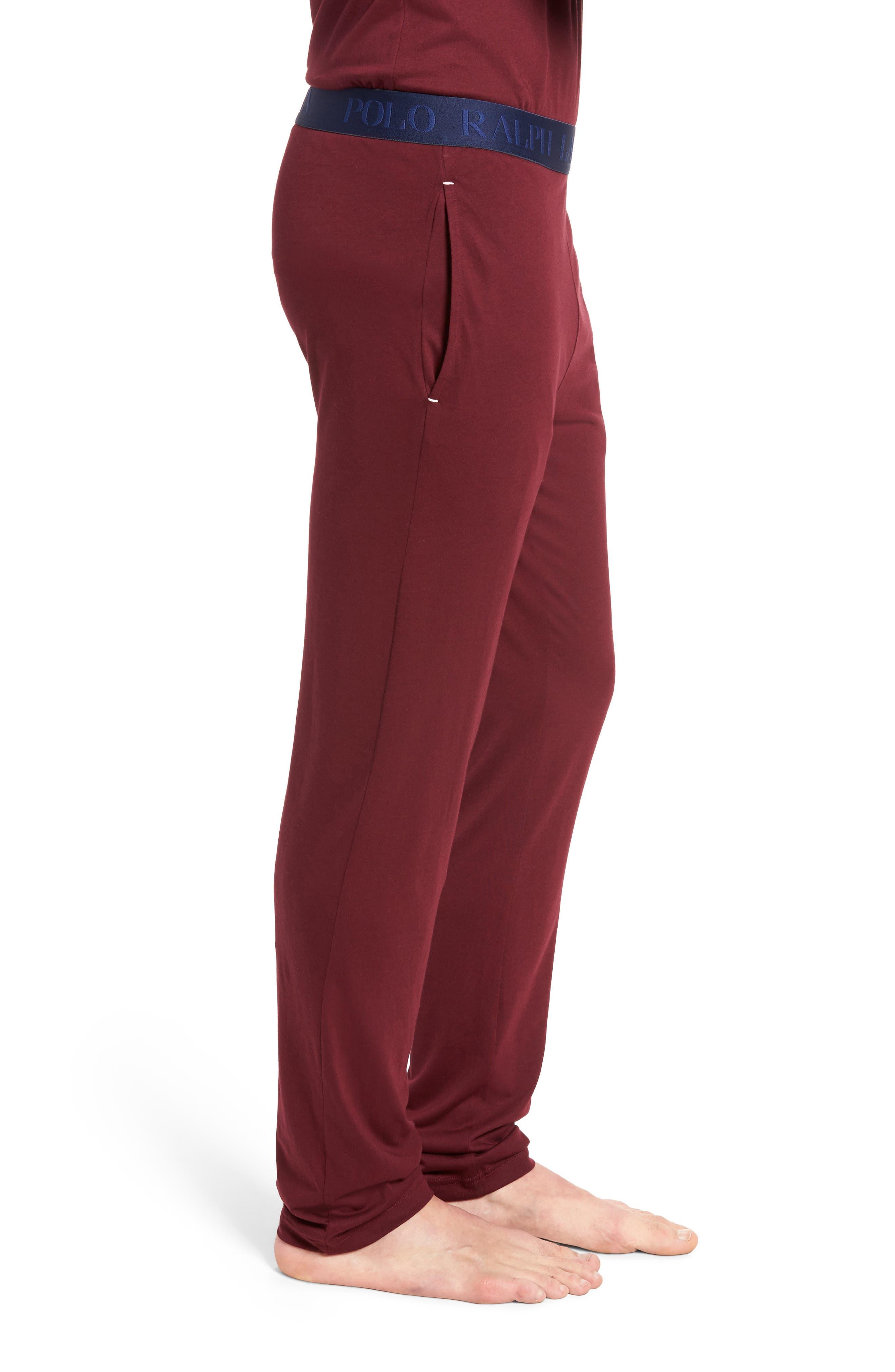 Cotton & Modal Lounge Pants,                             Alternate thumbnail 9, color,