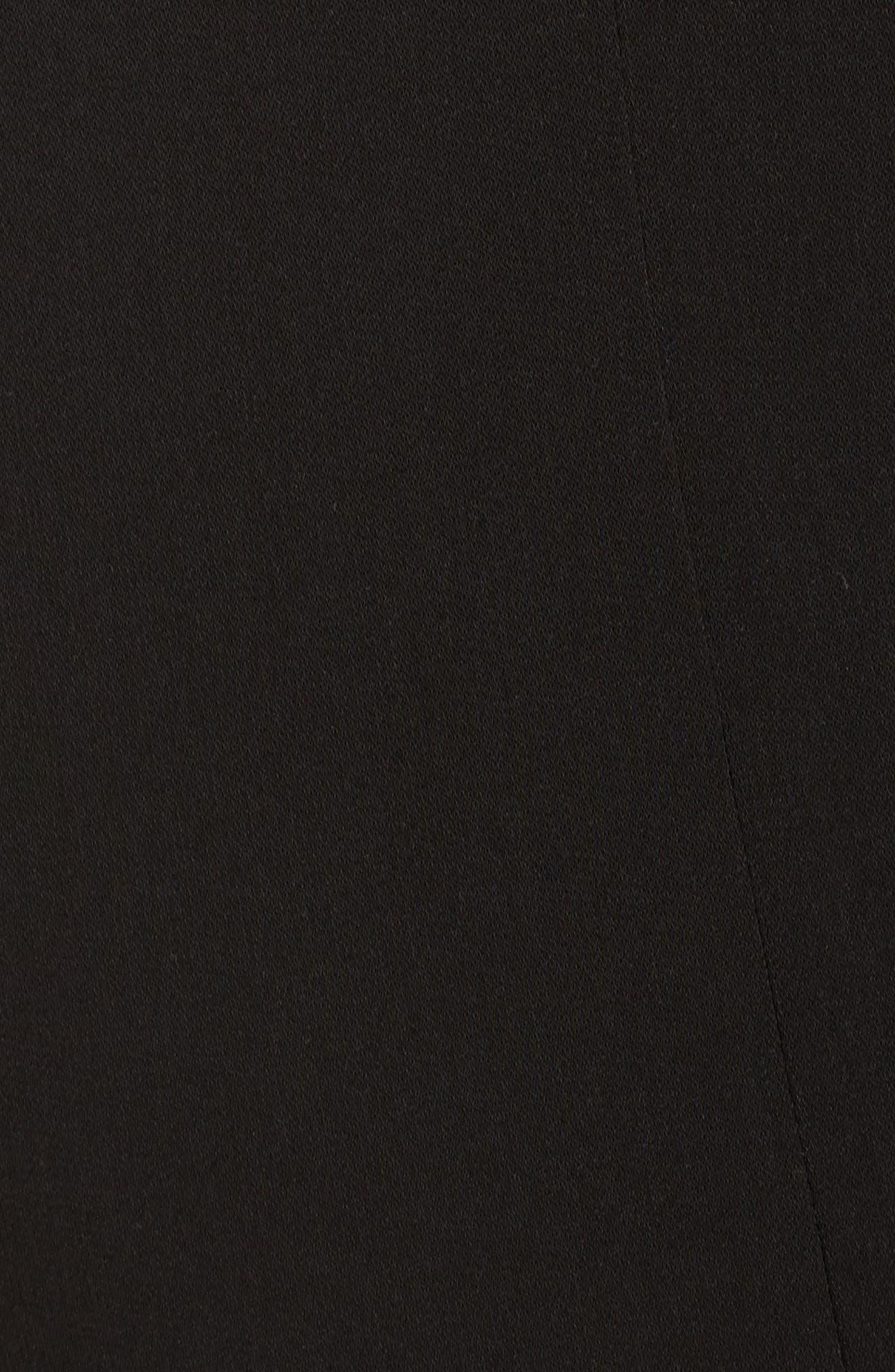 Rita Zip Split Hem Pants,                             Alternate thumbnail 5, color,                             001