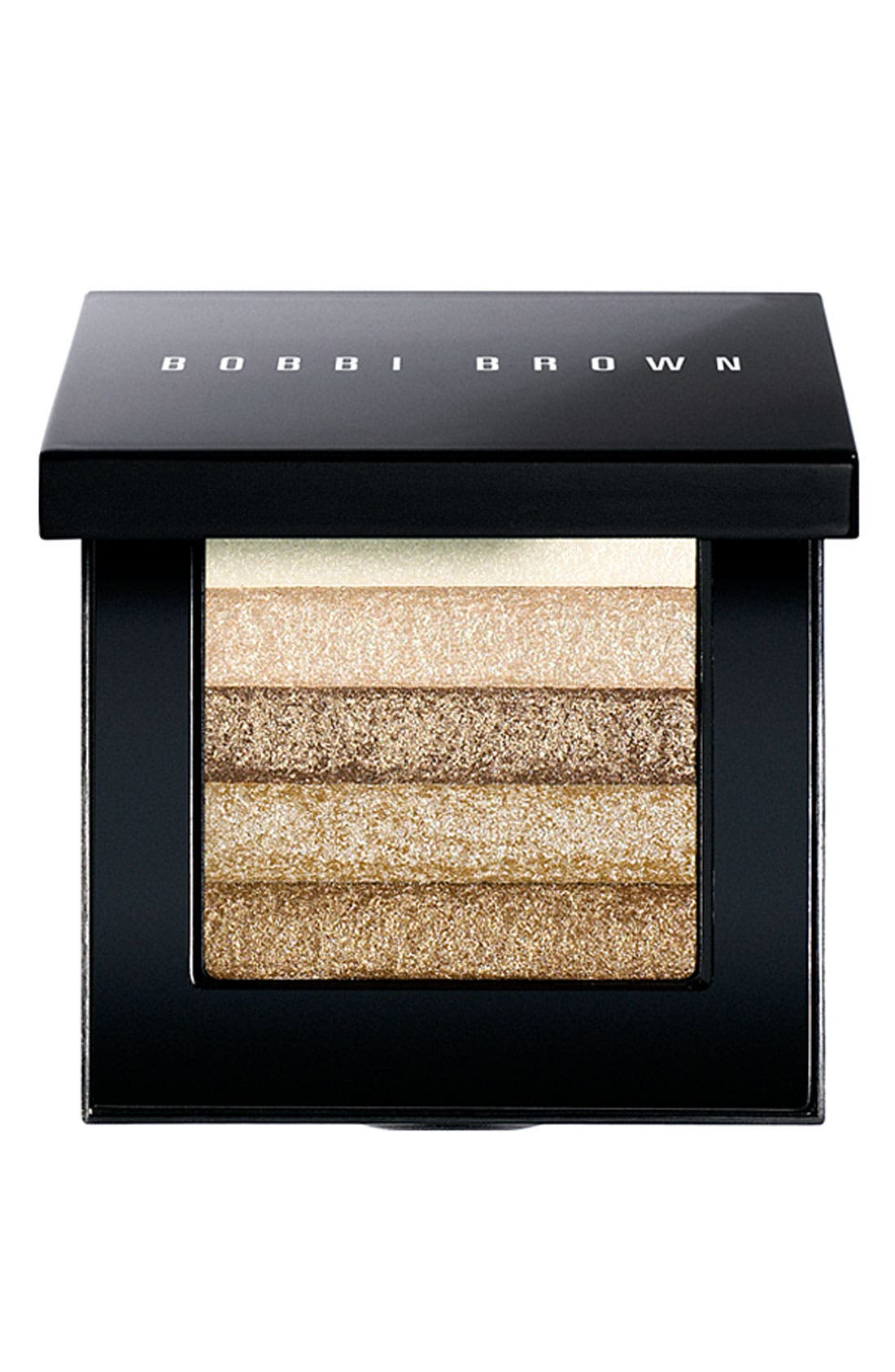 Beige Shimmer Brick Compact,                             Main thumbnail 1, color,                             NO COLOR