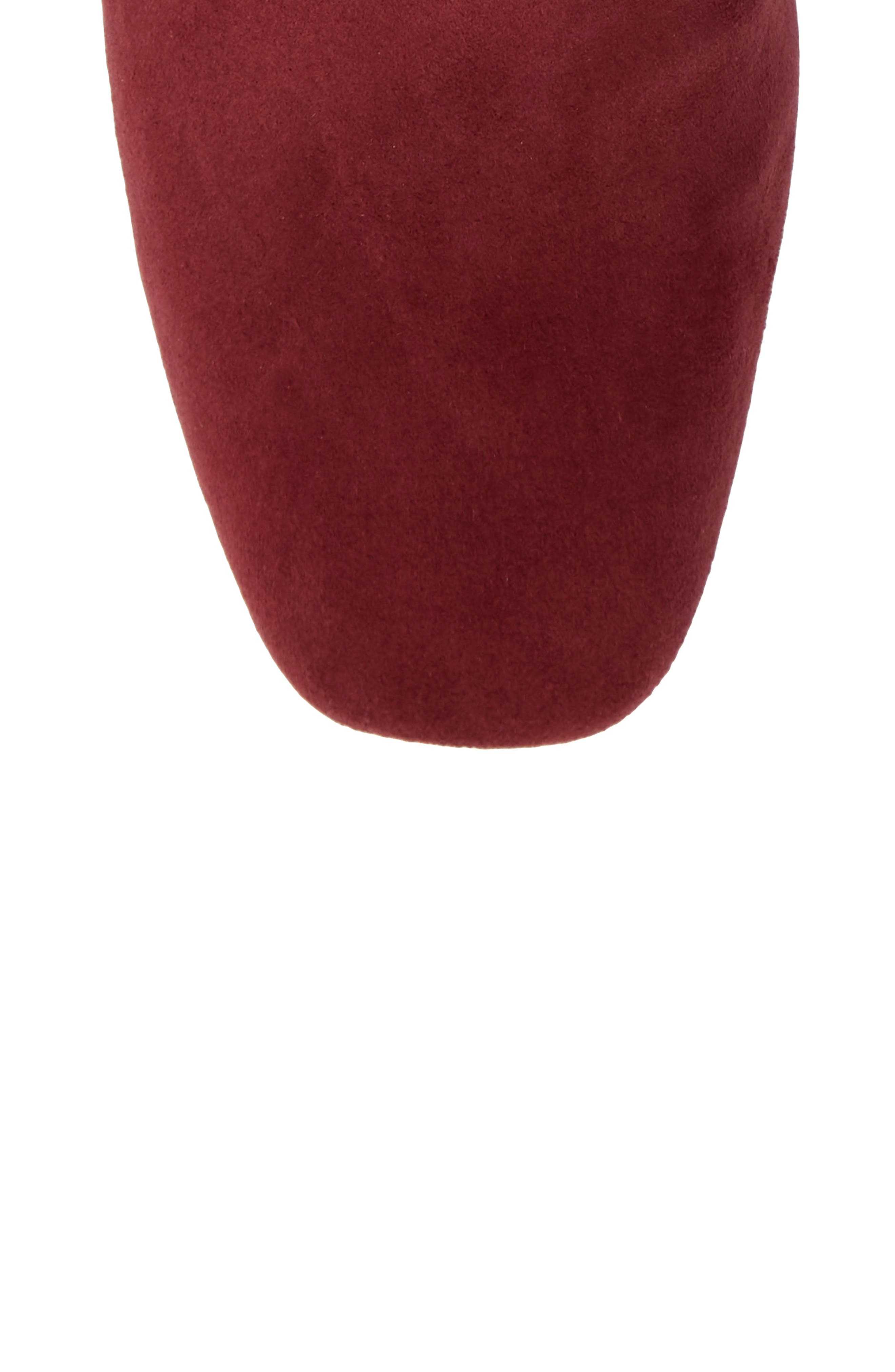 Eryc Bootie,                             Alternate thumbnail 5, color,                             WINE SUEDE