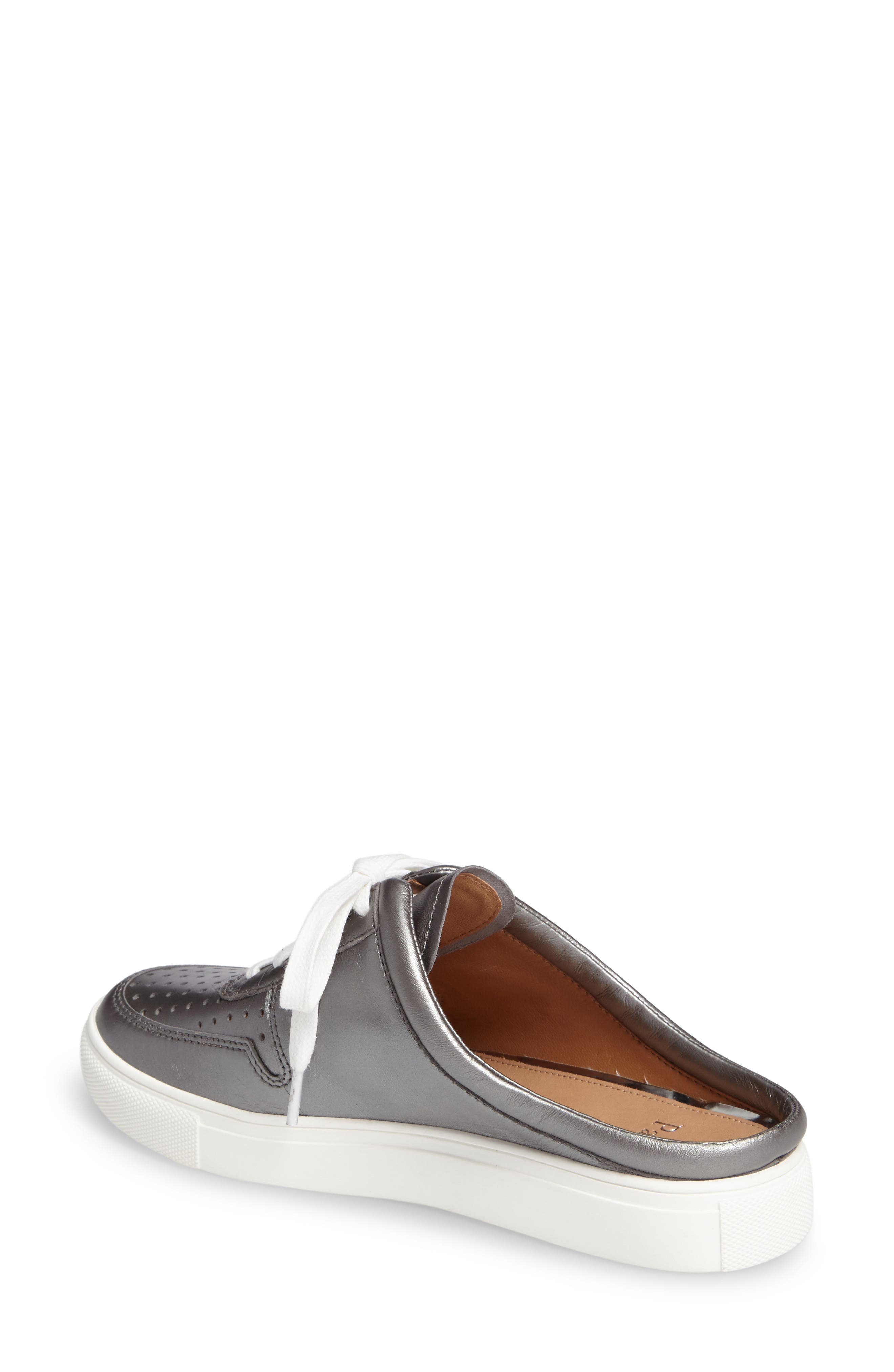 Kacy Perforated Slide Sneaker,                             Alternate thumbnail 2, color,                             040