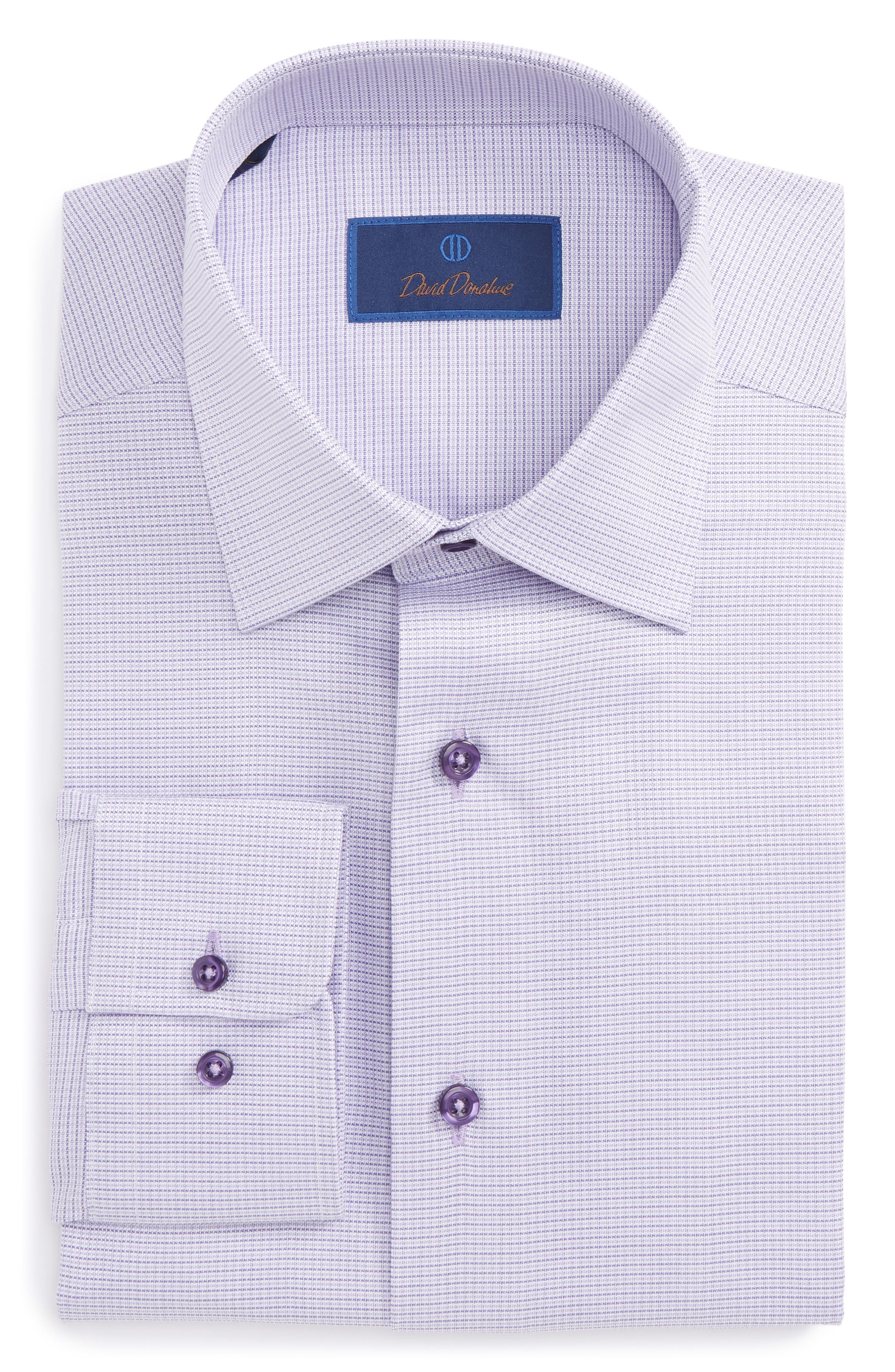 Regular Fit Solid Dress Shirt,                         Main,                         color,