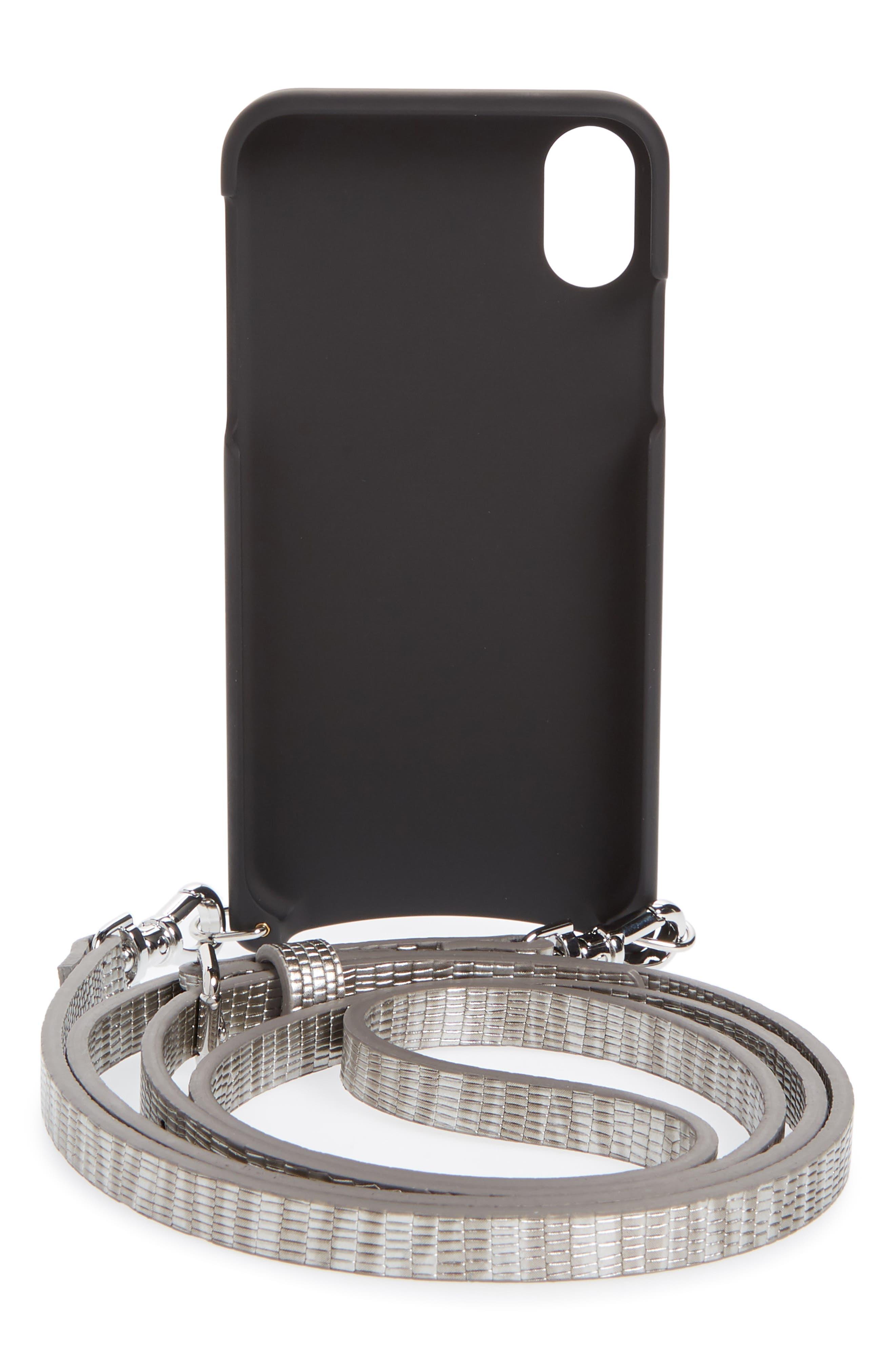 Emma iPhone X/Xs Crossbody Case,                             Alternate thumbnail 3, color,                             040