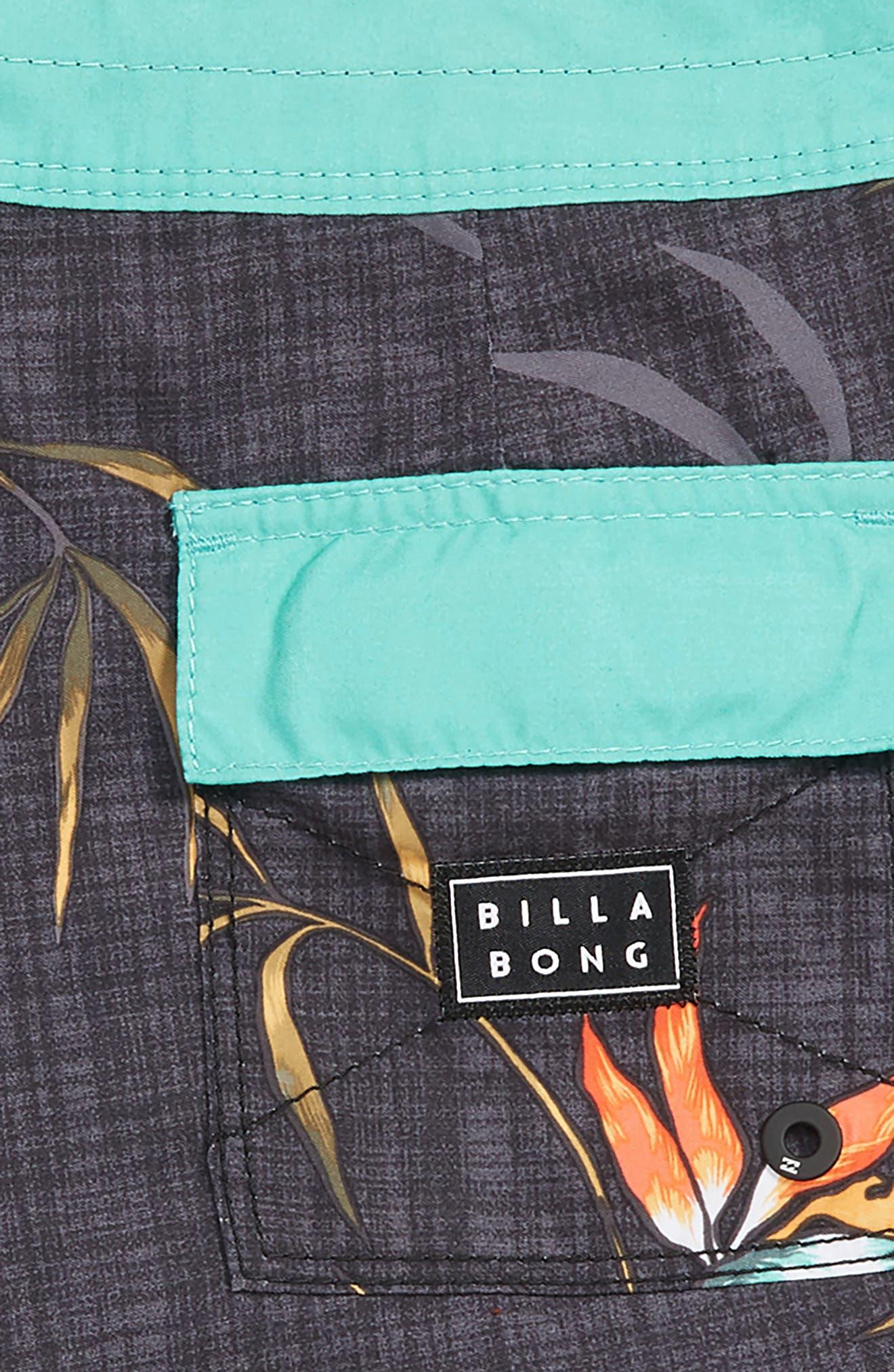 Sundays Board Shorts,                             Alternate thumbnail 3, color,                             BLACK MULTI
