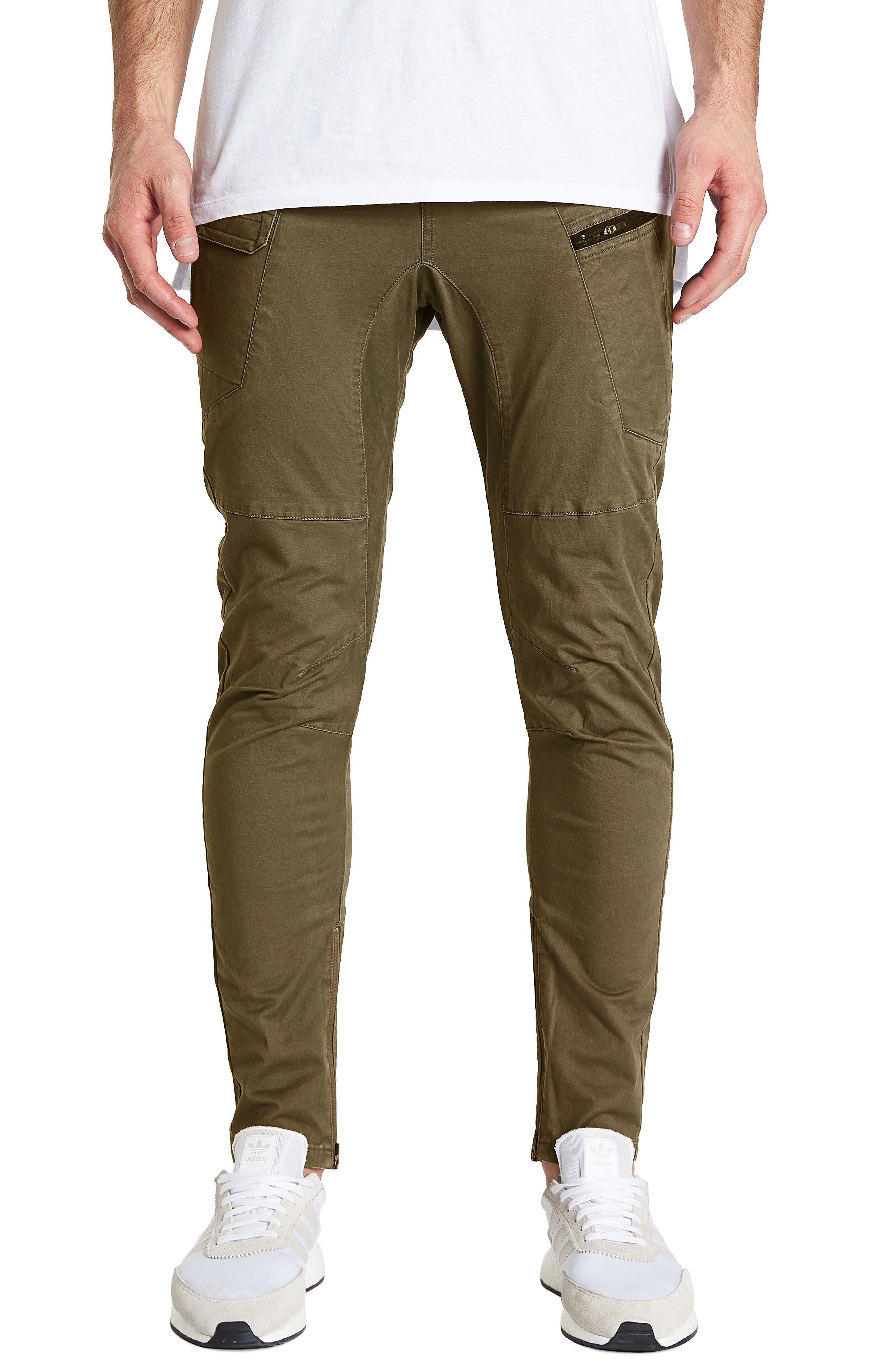 Tactical Slim Fit Pants,                             Main thumbnail 1, color,                             IVY GREEN