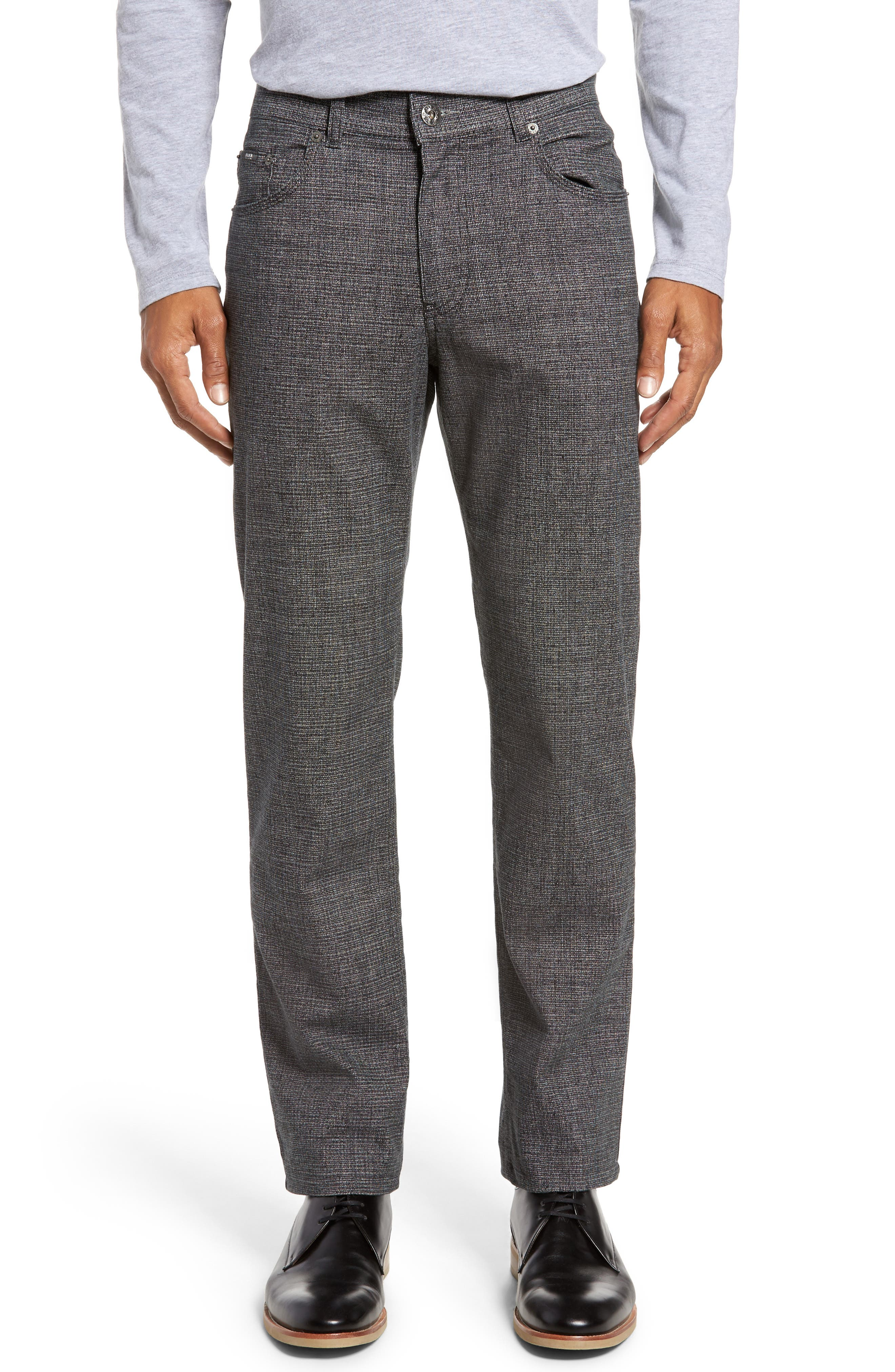 Cotton Blend Five-Pocket Trousers,                             Main thumbnail 1, color,                             005