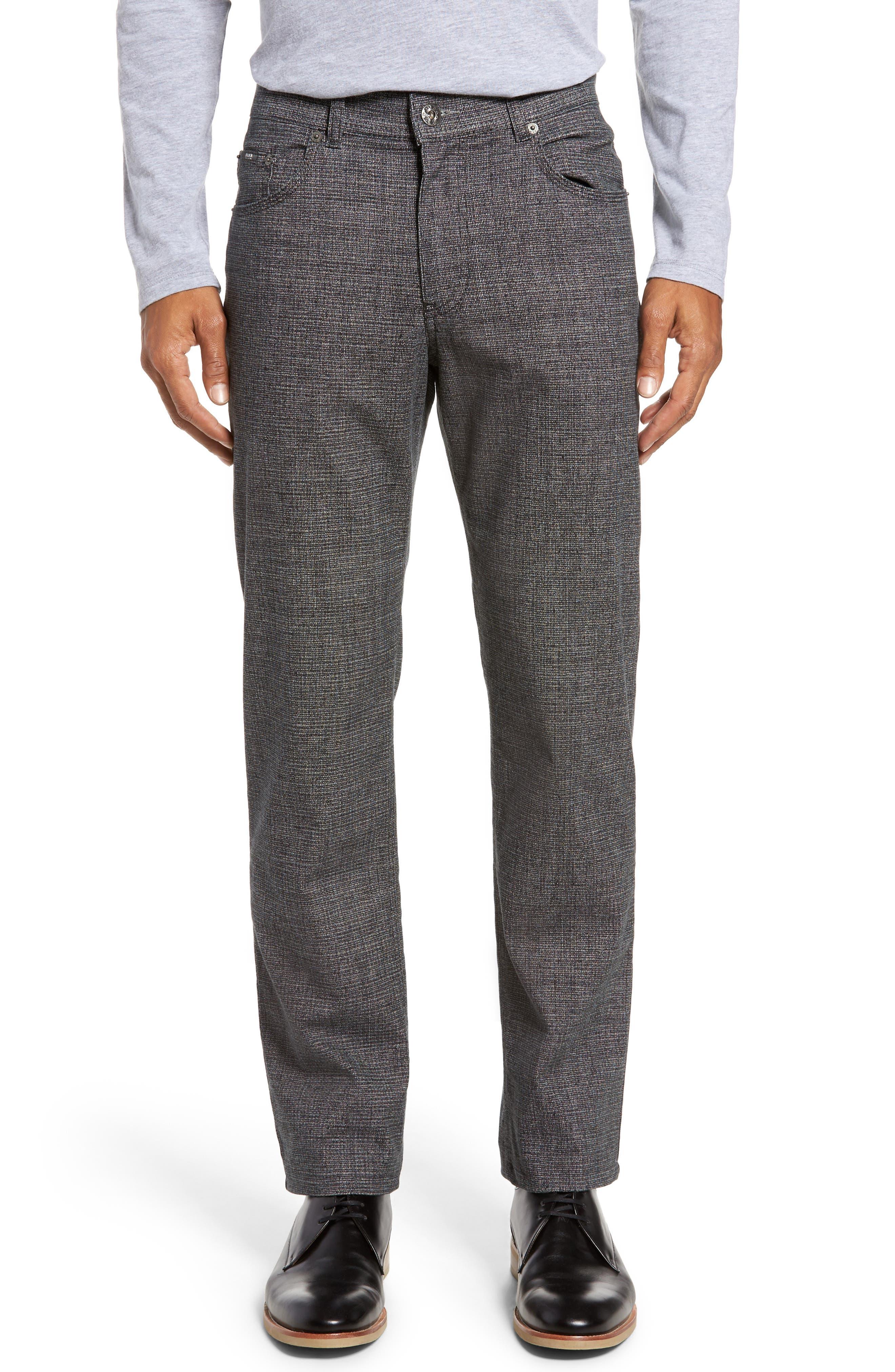 Cotton Blend Five-Pocket Trousers,                         Main,                         color, 005
