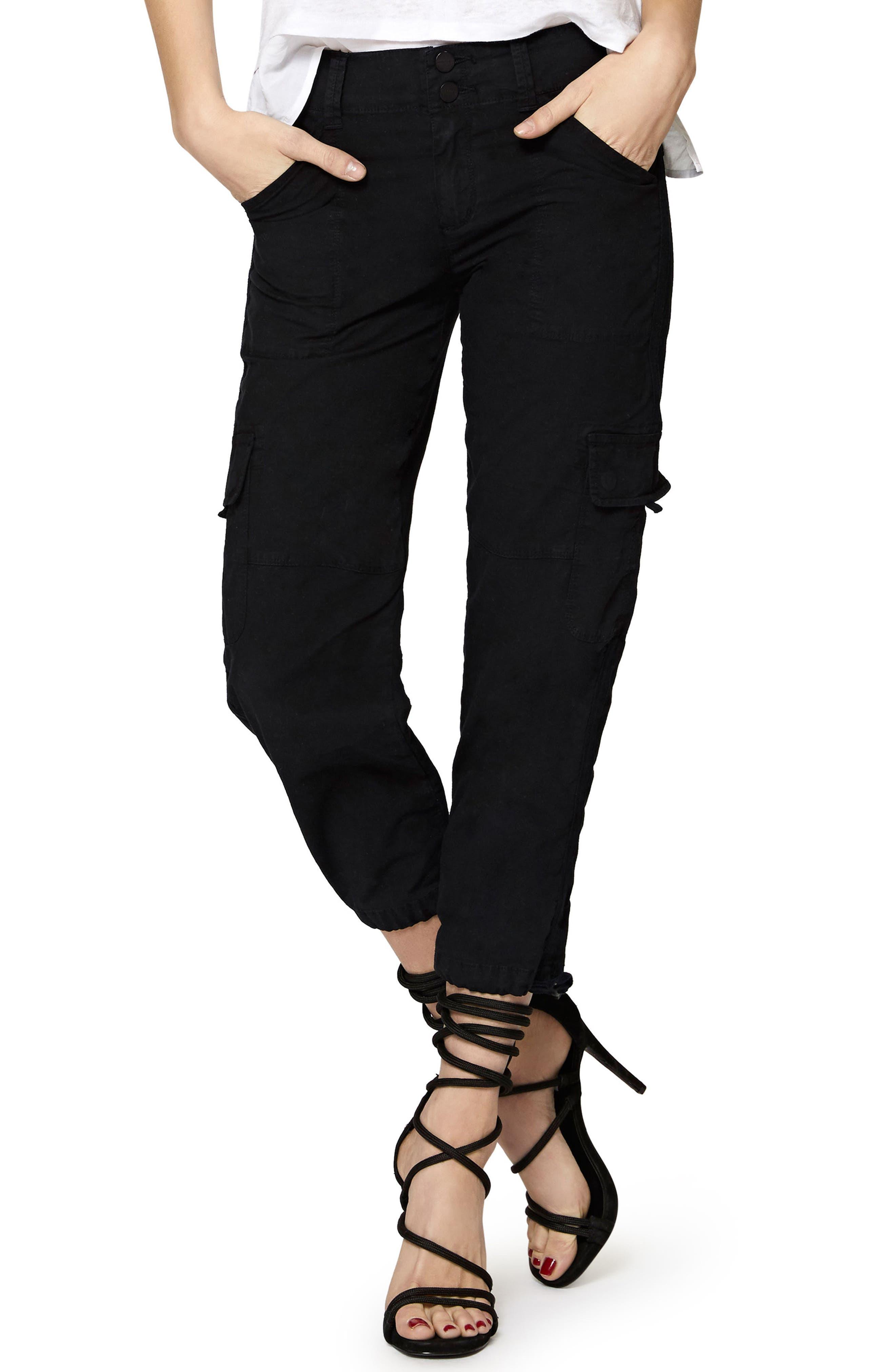 Terrain Crop Cargo Pants,                         Main,                         color, 001