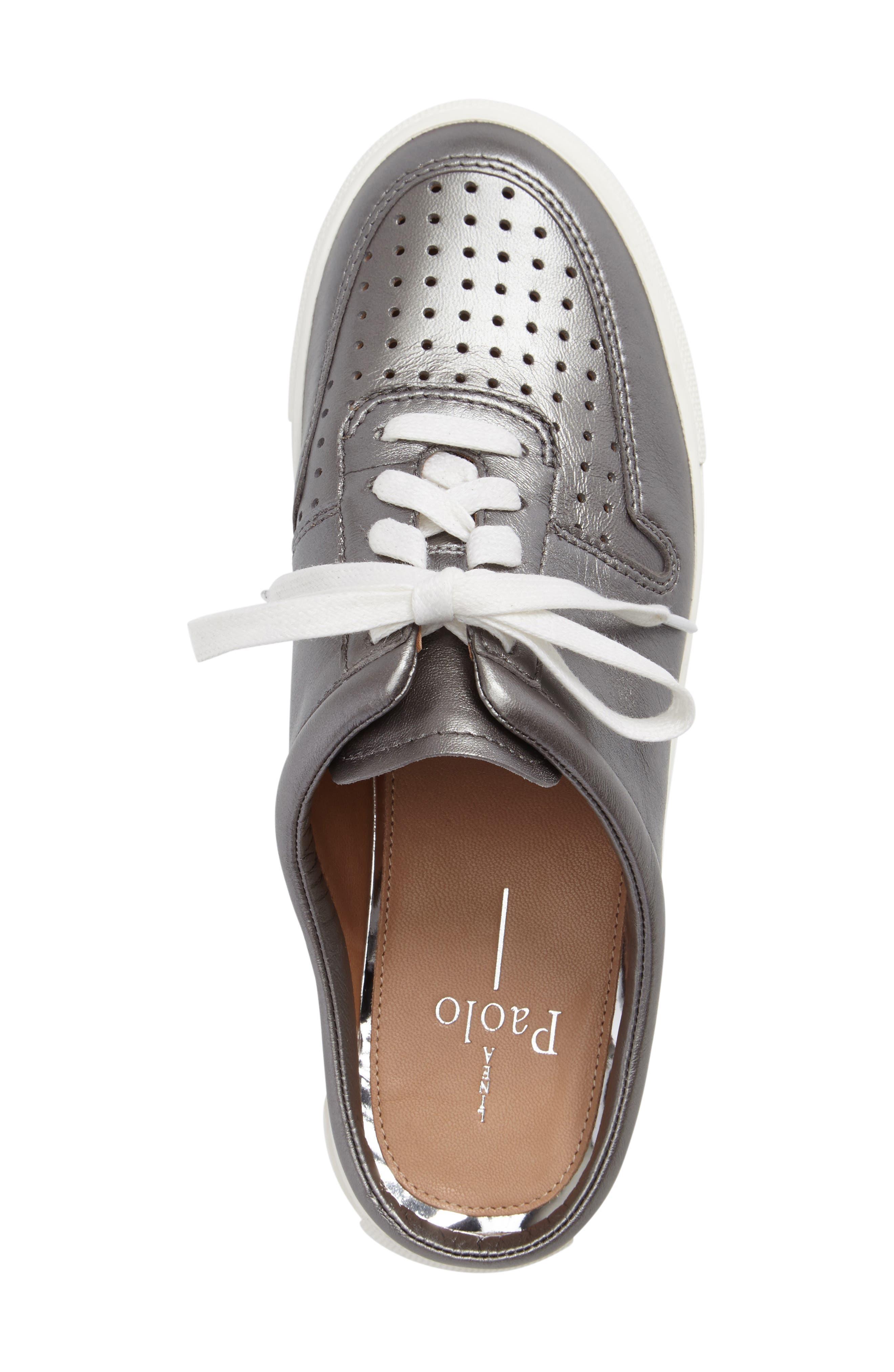 Kacy Perforated Slide Sneaker,                             Alternate thumbnail 3, color,                             040