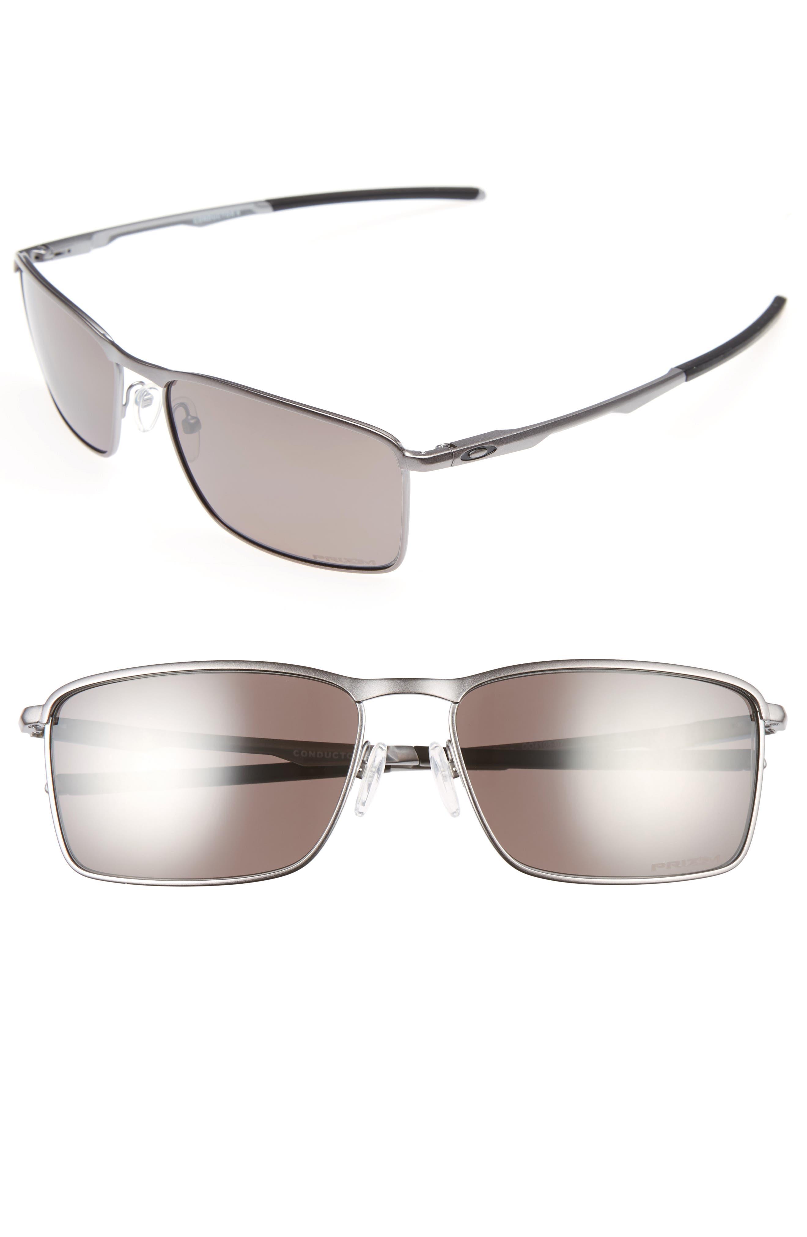 Conductor 6 58mm Polarized Sunglasses,                             Main thumbnail 1, color,                             GREY