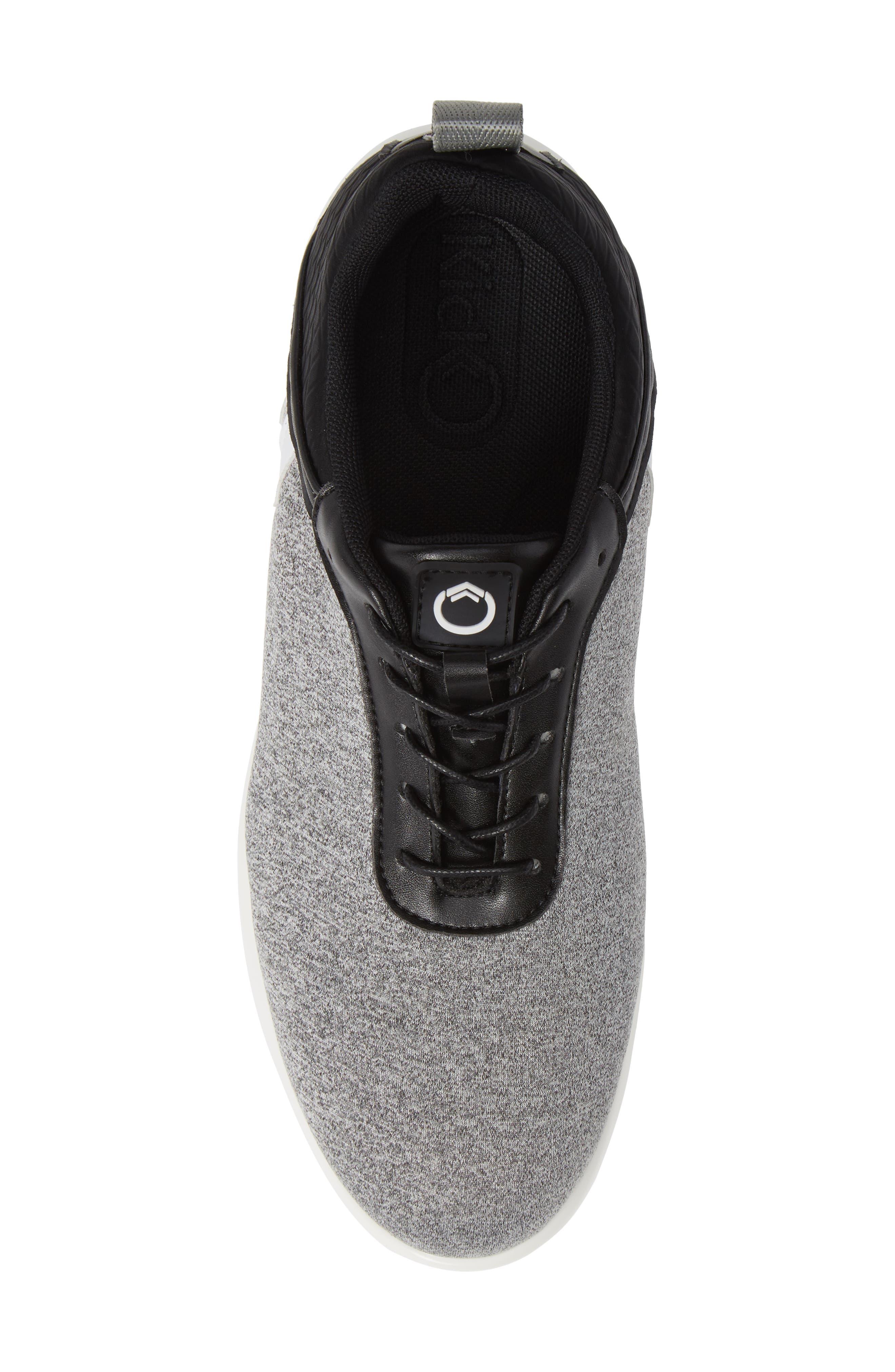 Avalon Sneaker,                             Alternate thumbnail 5, color,                             GREY FABRIC
