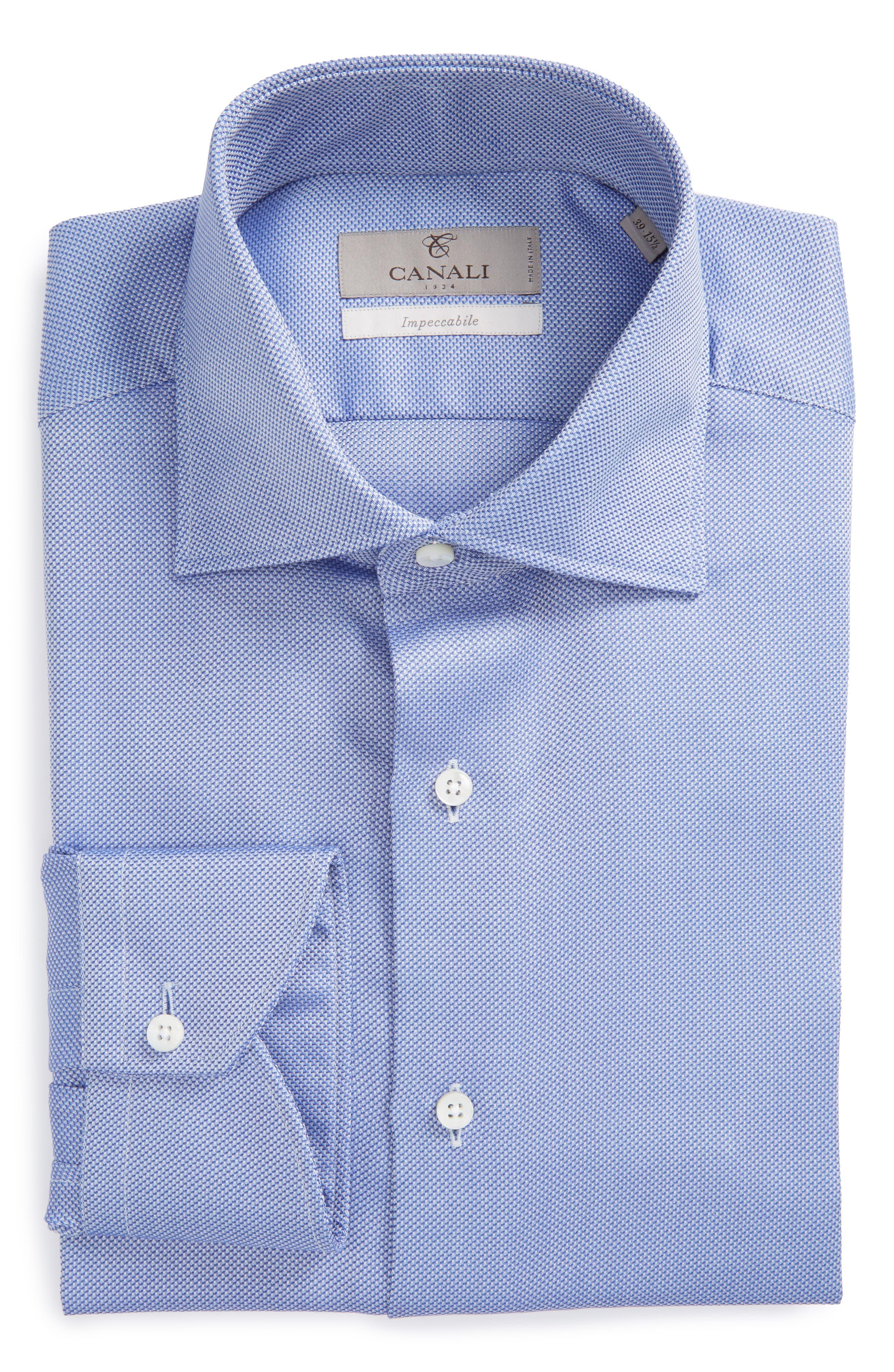 Regular Fit Solid Dress Shirt,                         Main,                         color, 401