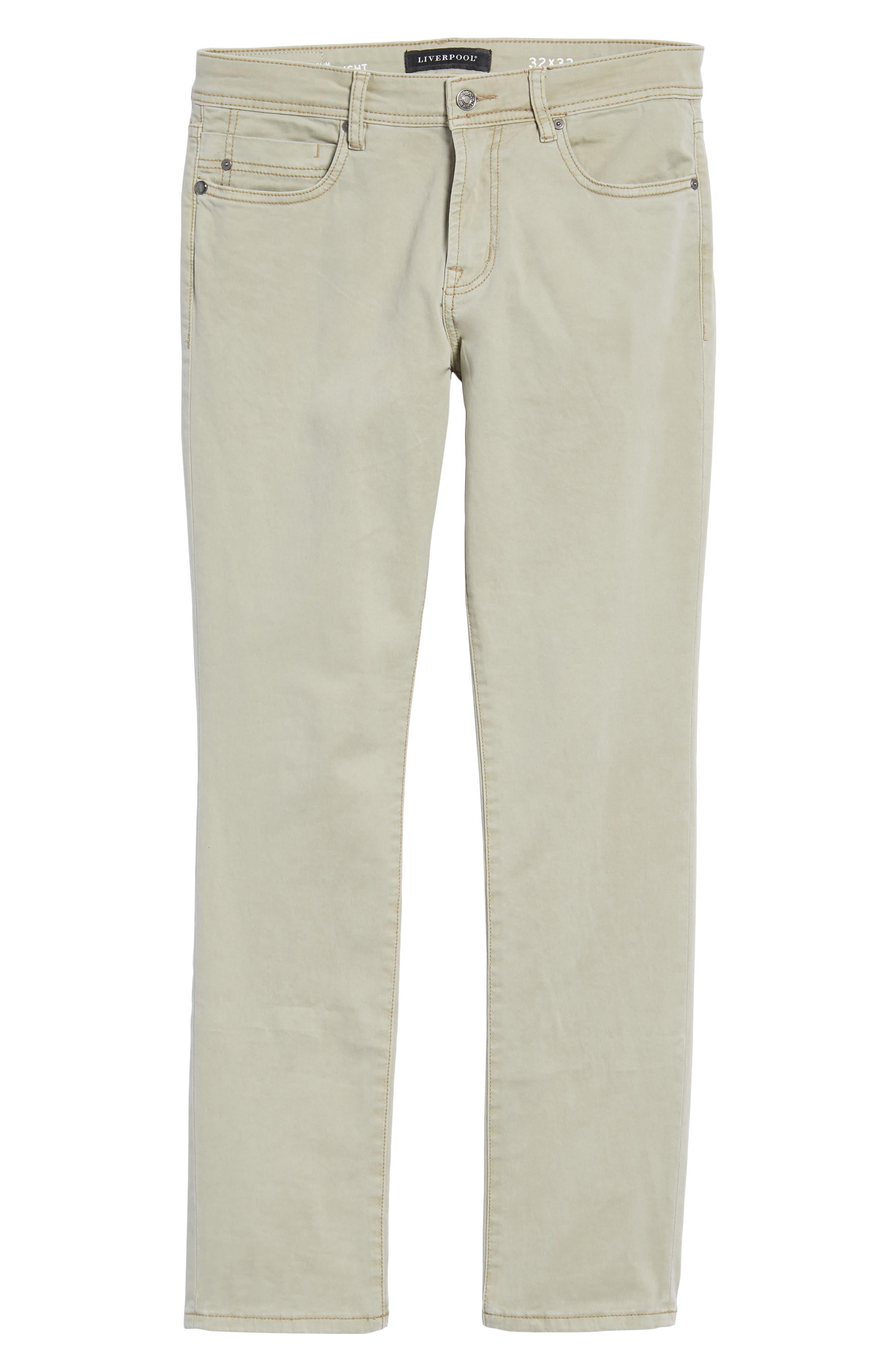 Jeans Co. Kingston Slim Straight Leg Jeans,                             Alternate thumbnail 6, color,                             SANDSTROM