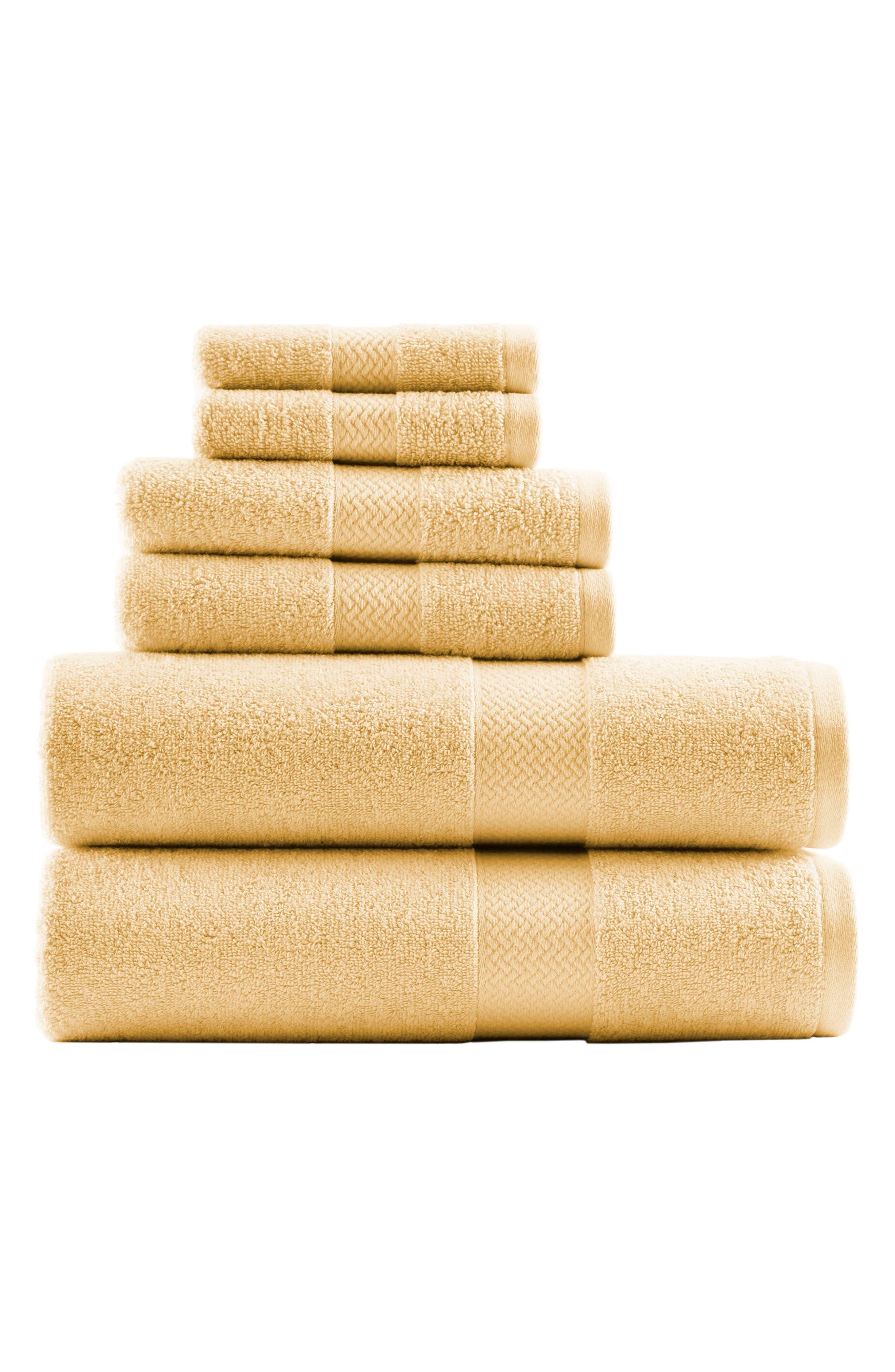 Tommy Bahama Cypress Bay 6Piece Towel Set Size One Size  Yellow