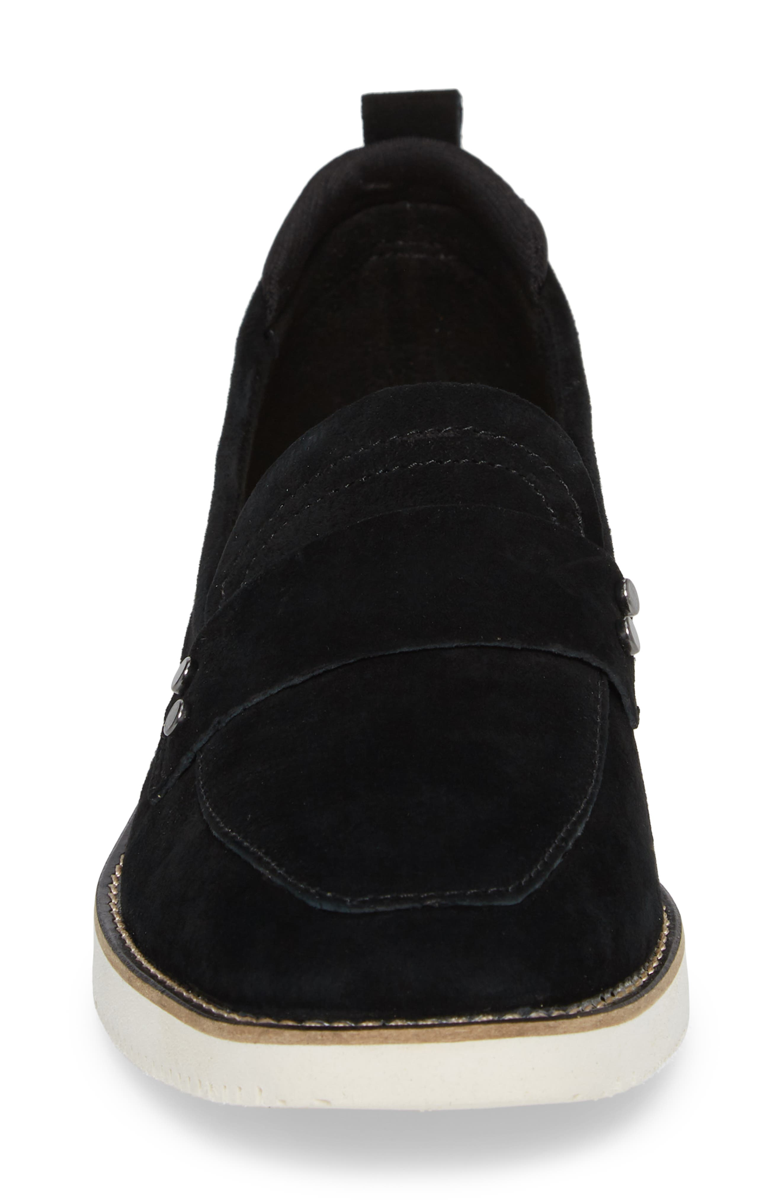 HUSH PUPPIES<SUP>®</SUP>,                             Chowchow Loafer,                             Alternate thumbnail 4, color,                             001