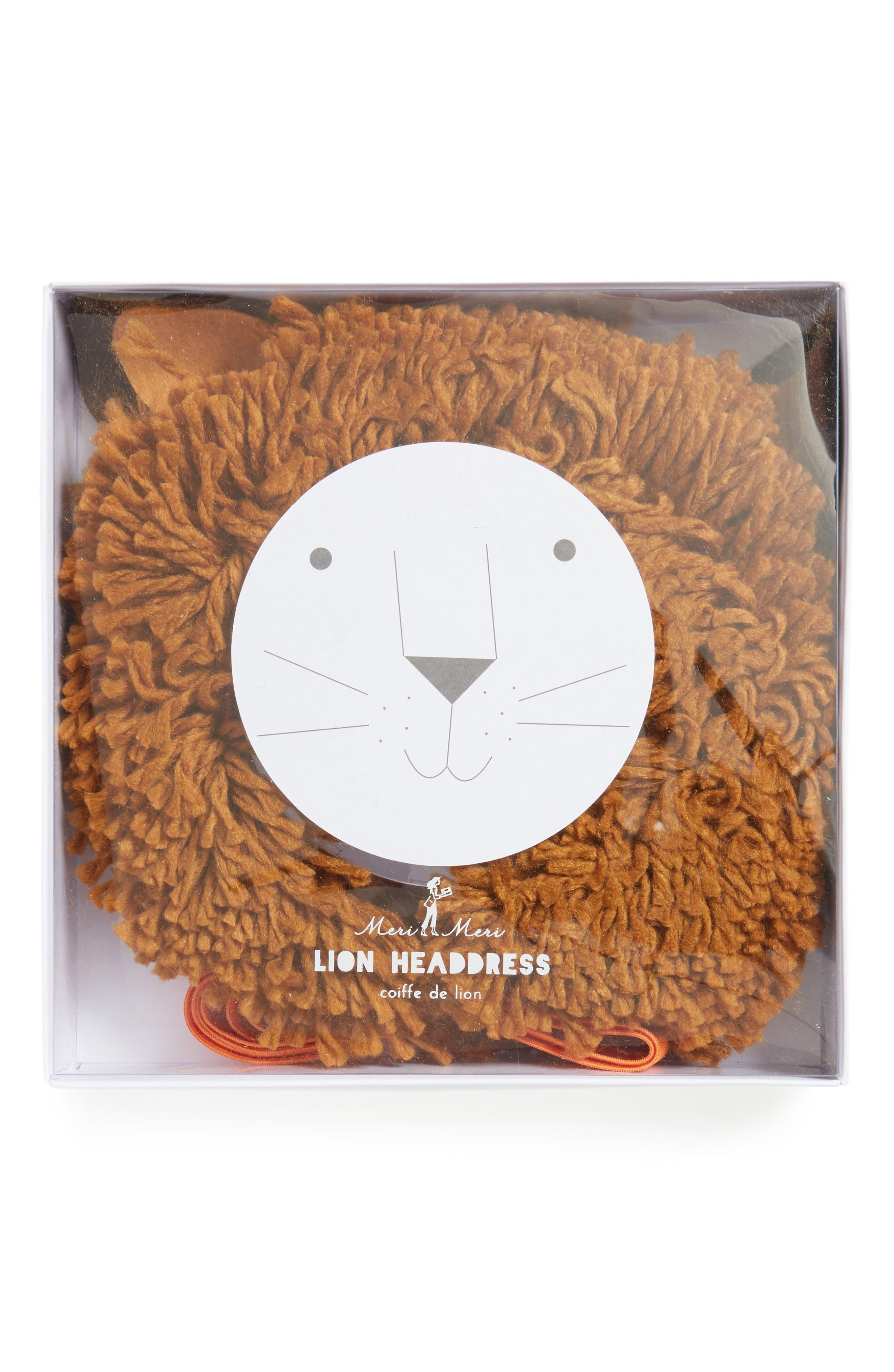 Lion Mane Headwrap,                             Alternate thumbnail 2, color,