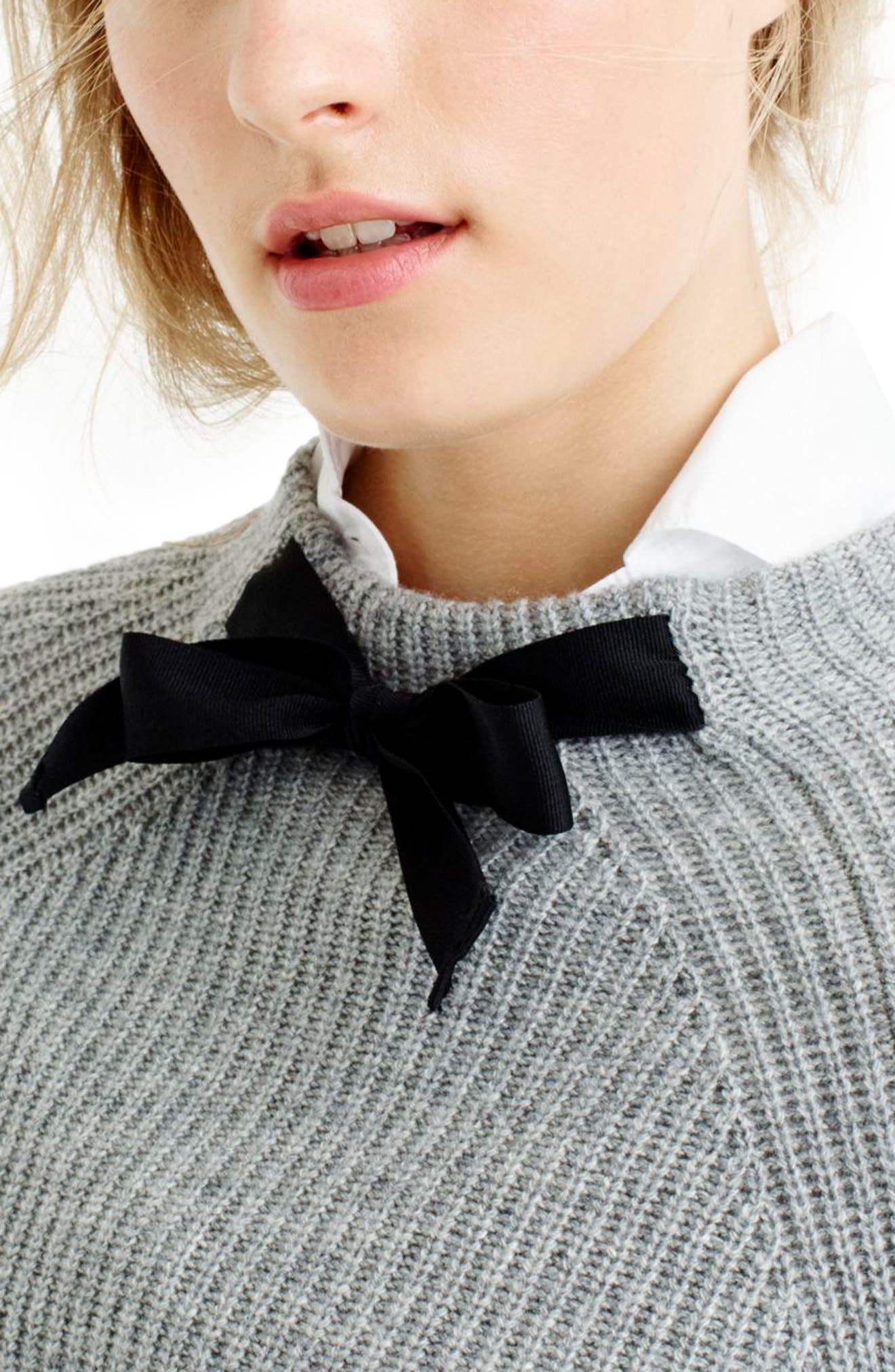 Gayle Tie Neck Sweater,                             Alternate thumbnail 15, color,