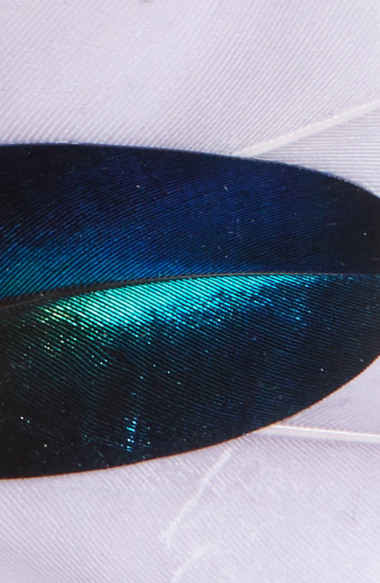 Dixon Feather Bow Tie,                             Alternate thumbnail 2, color,                             100