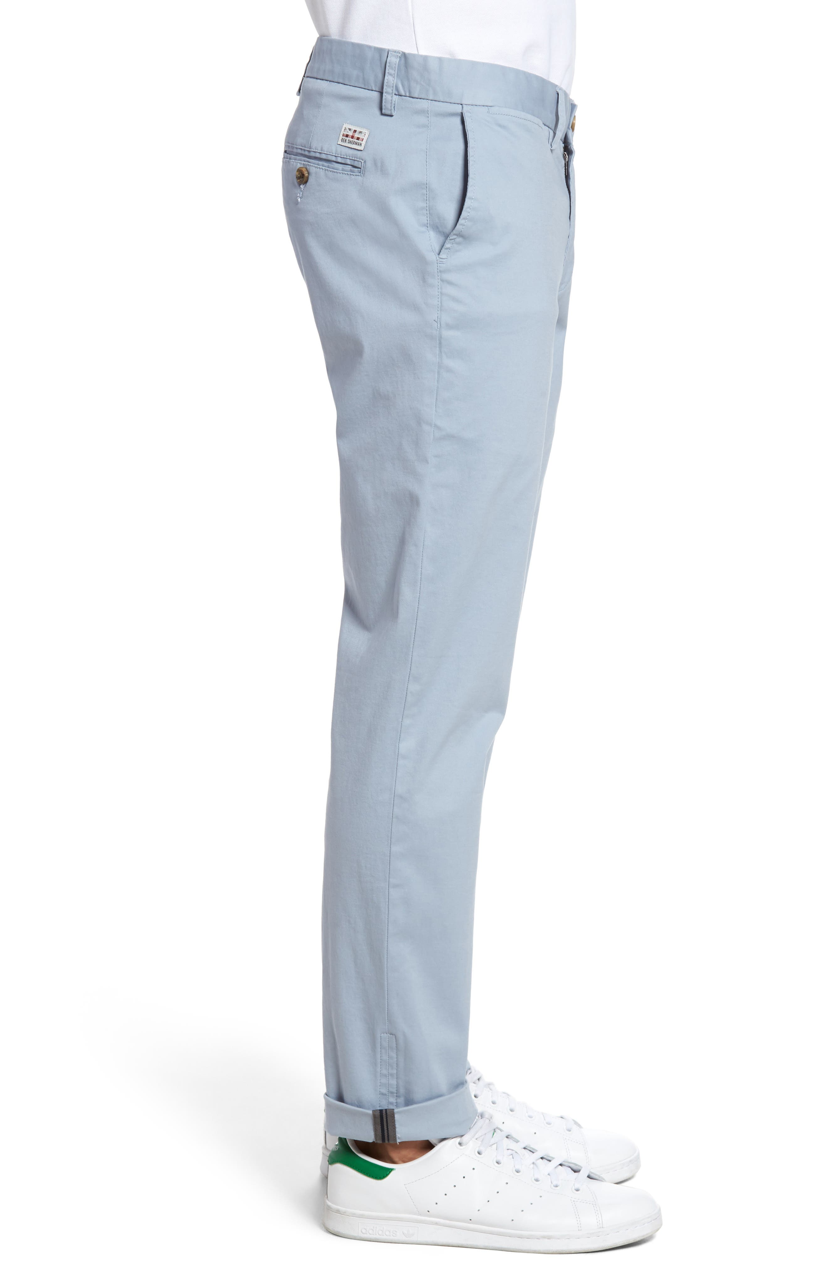 Slim Fit Stretch Chinos,                             Alternate thumbnail 36, color,