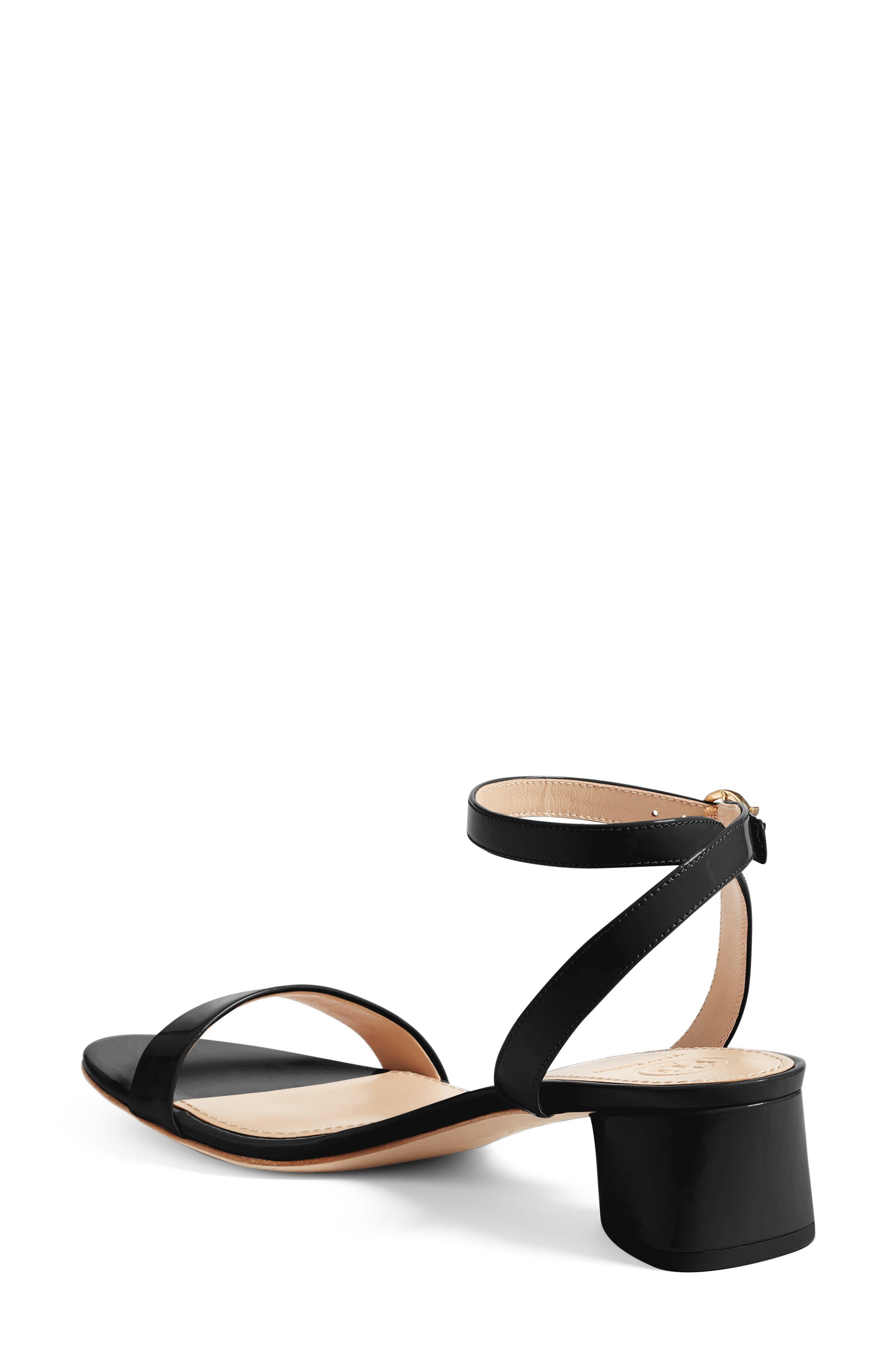 Elizabeth Block Heel Sandal,                             Alternate thumbnail 4, color,