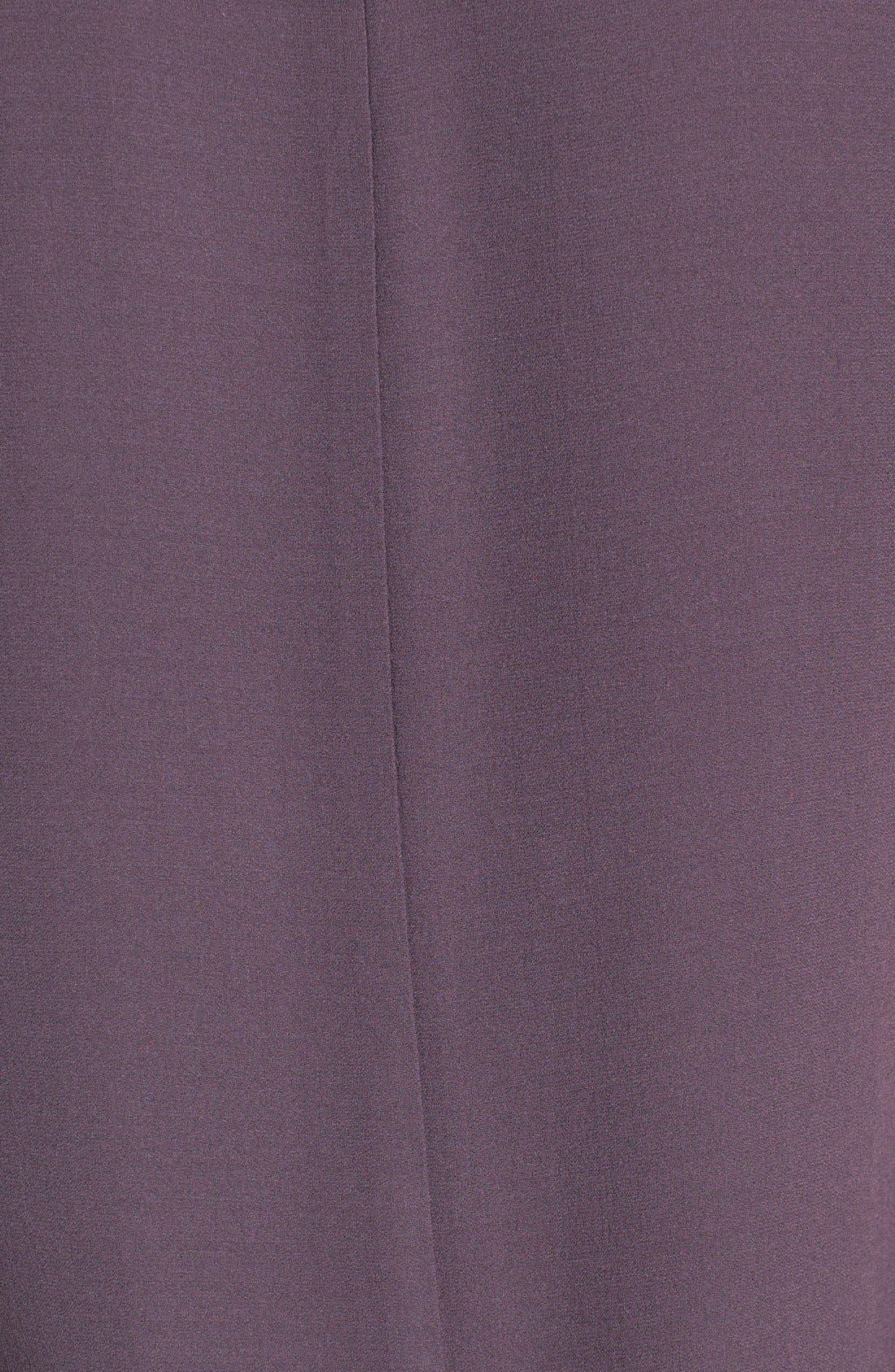 Silk Crepe High Neck Sleeveless Blouse,                             Alternate thumbnail 35, color,