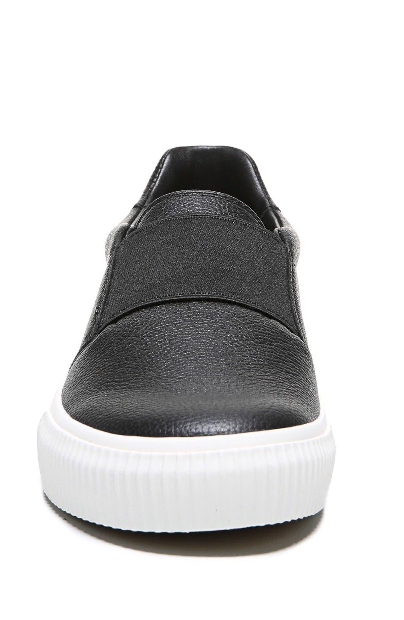 Kirkland Slip-On Sneaker,                             Alternate thumbnail 4, color,                             001