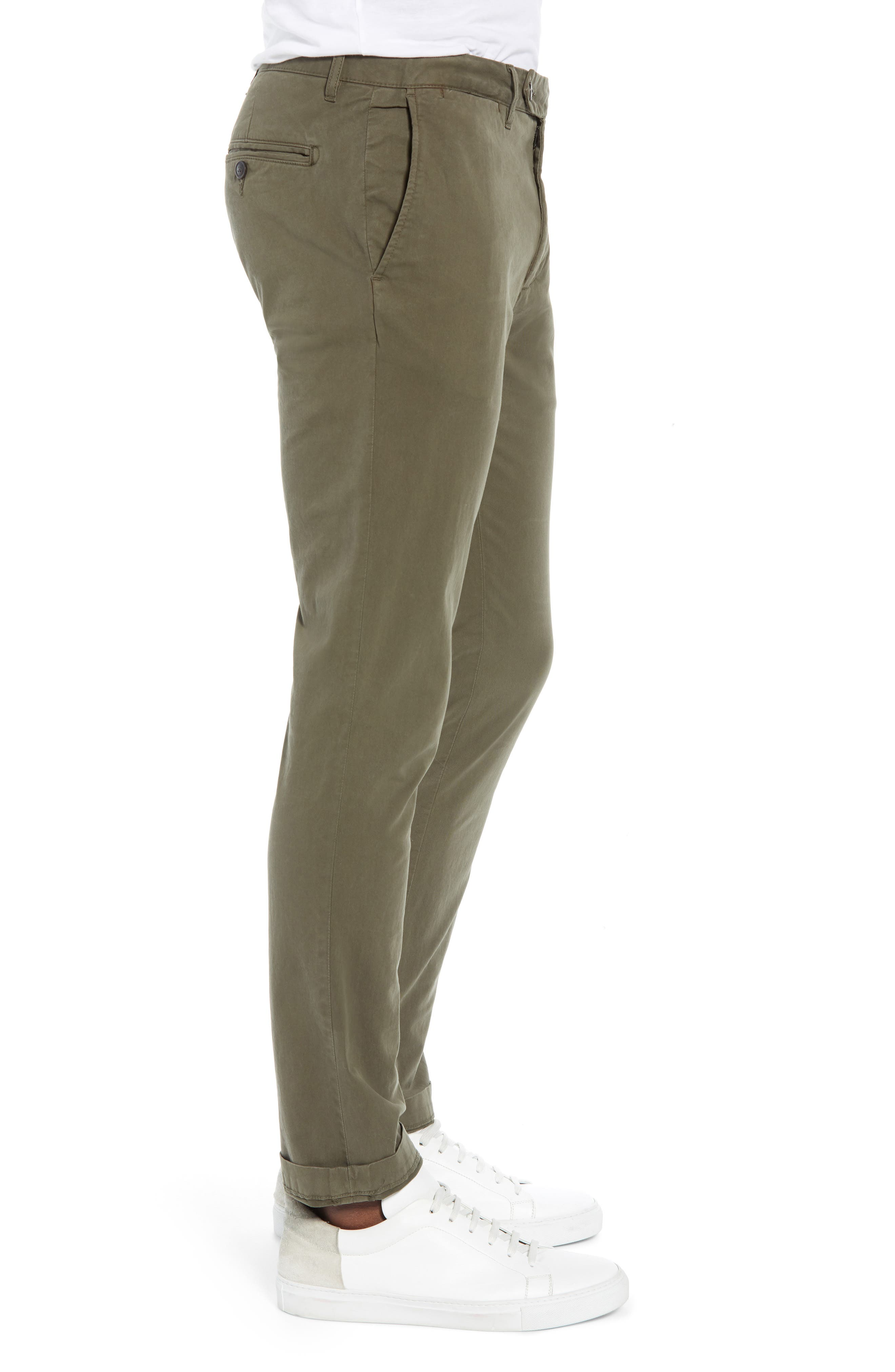 Stretch Twill Chino Pants,                             Alternate thumbnail 3, color,                             340