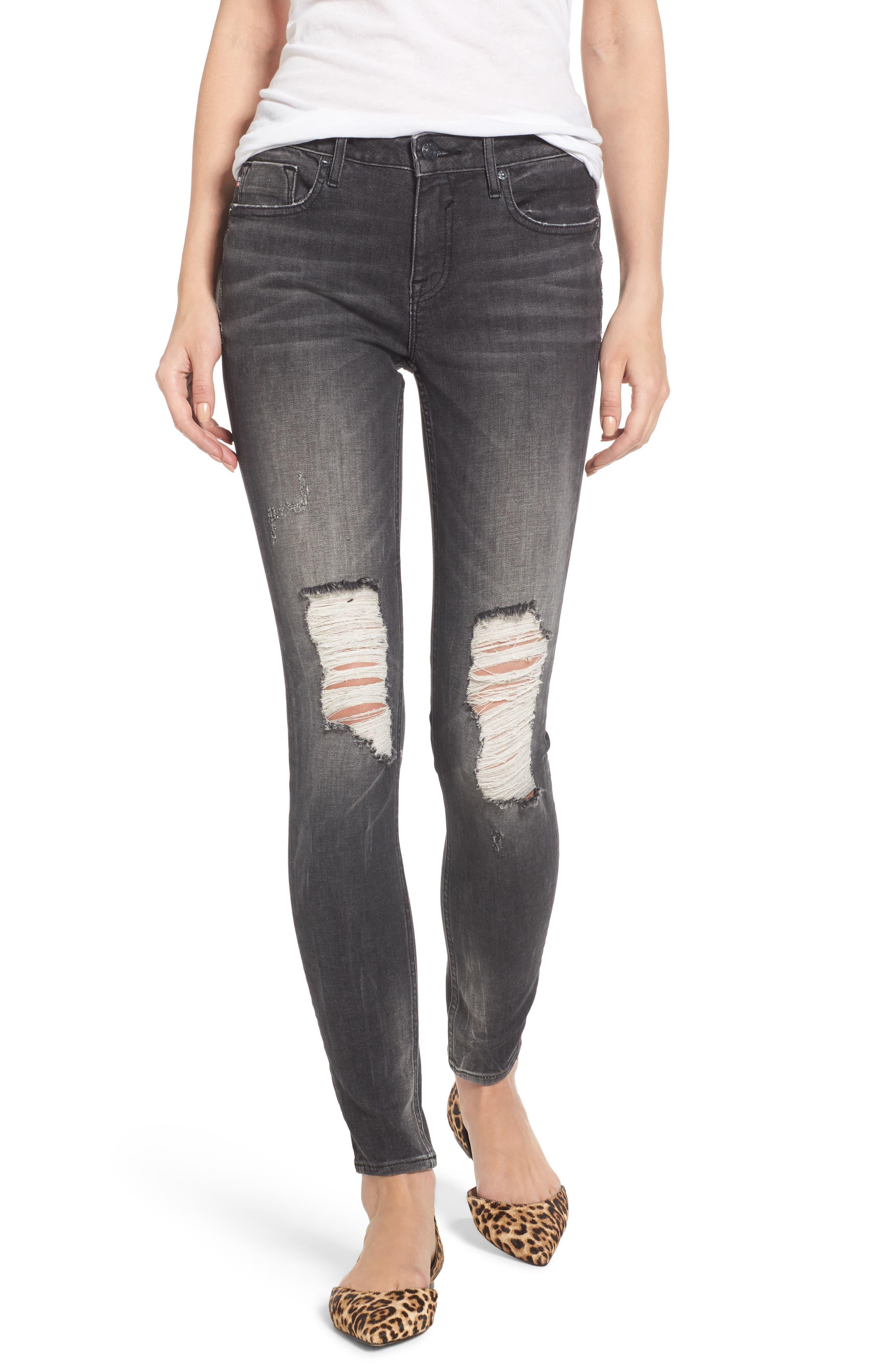 Jagger Ripped Skinny Jeans,                             Main thumbnail 1, color,                             020