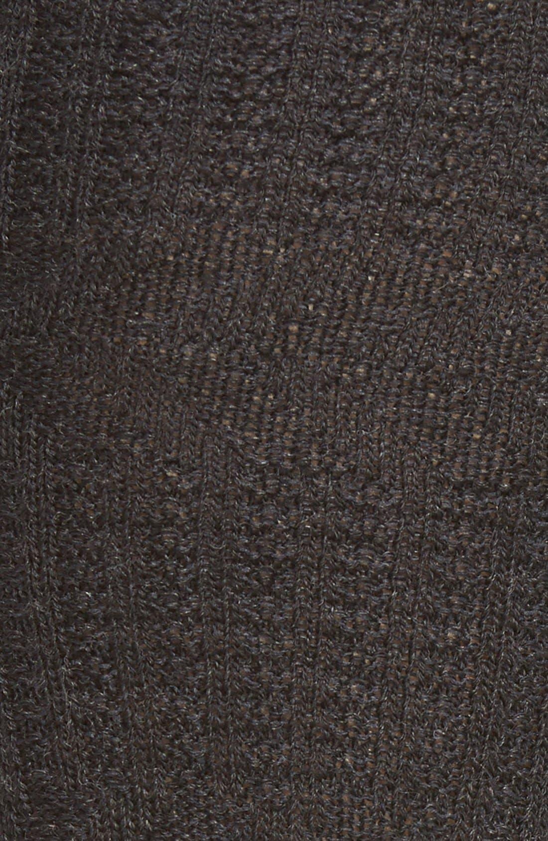 'Wheat Fields' Merino Wool Blend Socks,                             Alternate thumbnail 2, color,                             030