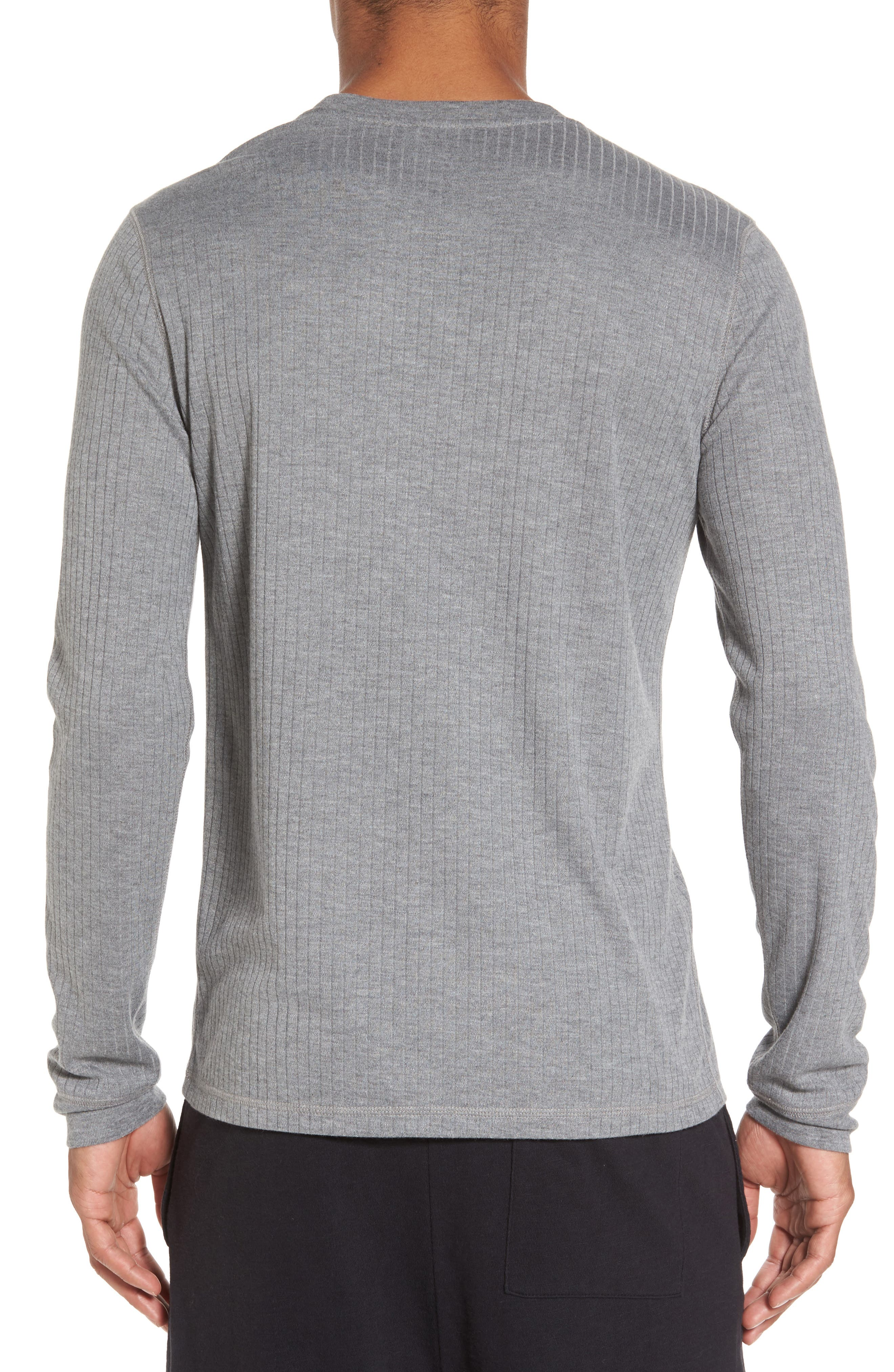 Ribbed Pullover,                             Alternate thumbnail 3, color,