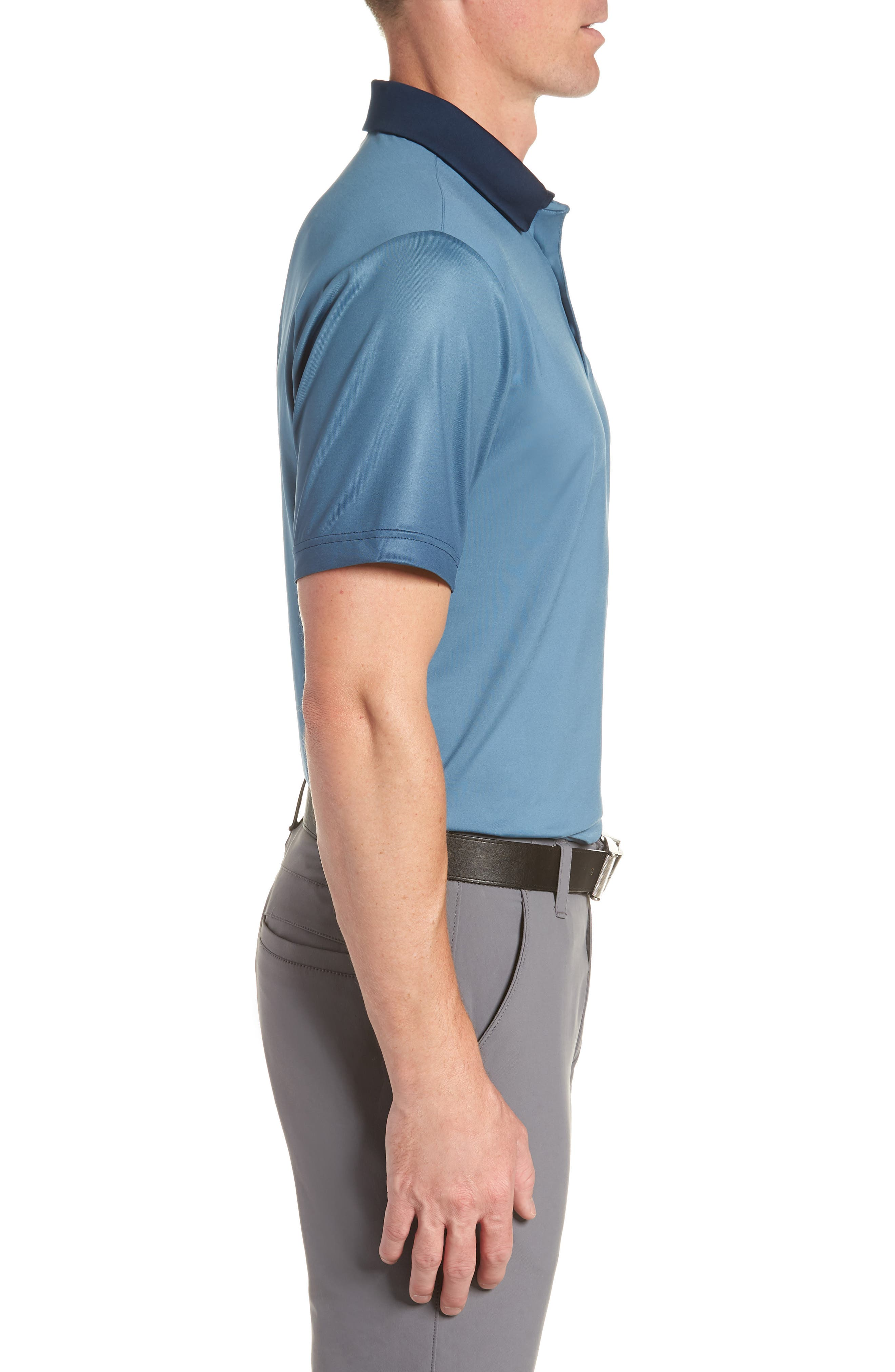 'Playoff' Loose Fit Short Sleeve Polo,                             Alternate thumbnail 122, color,