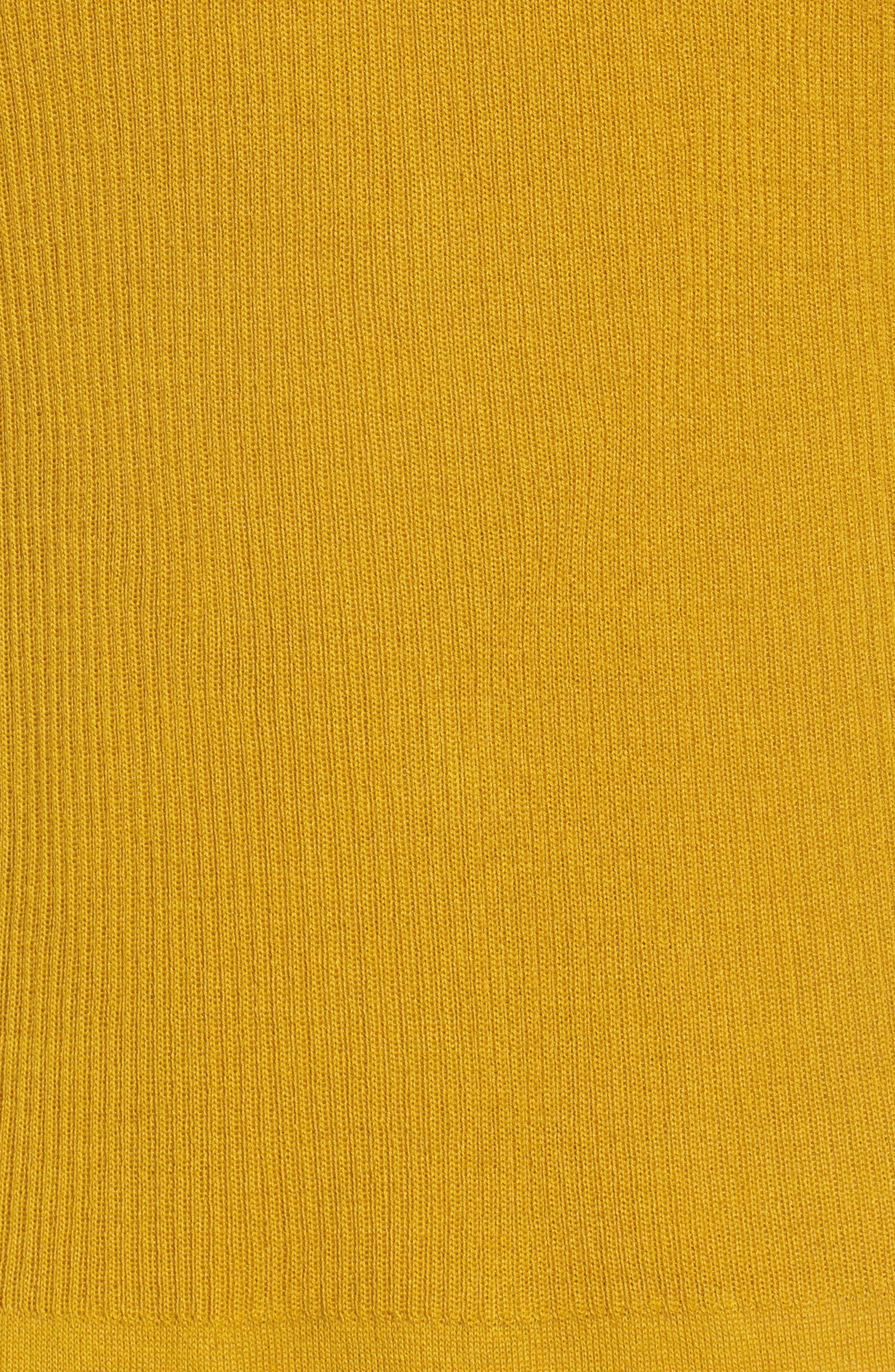 Rib Knit Wool Blend Cardigan,                             Alternate thumbnail 5, color,                             701