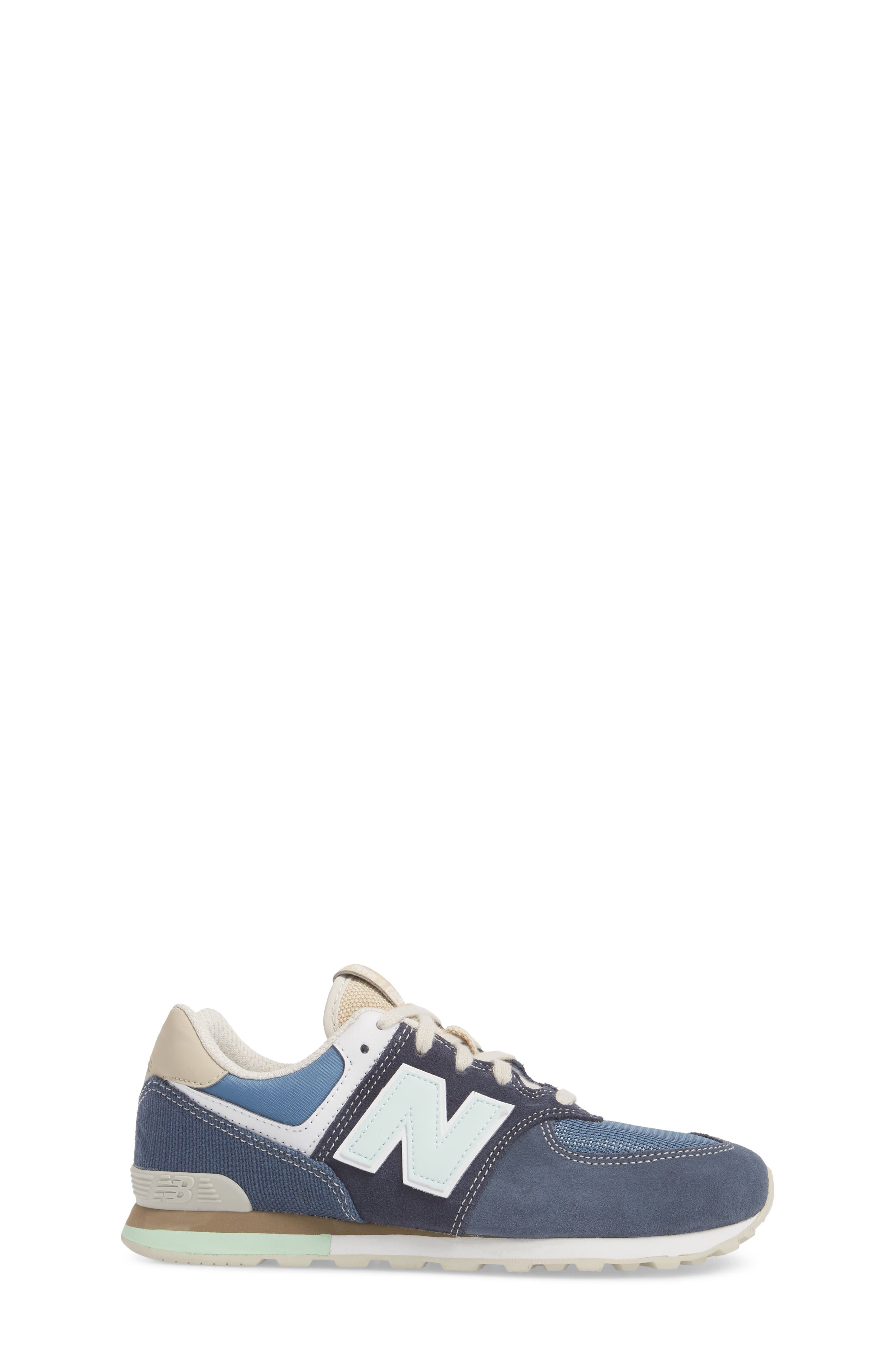 574 Retro Surf Sneaker,                             Alternate thumbnail 3, color,                             410