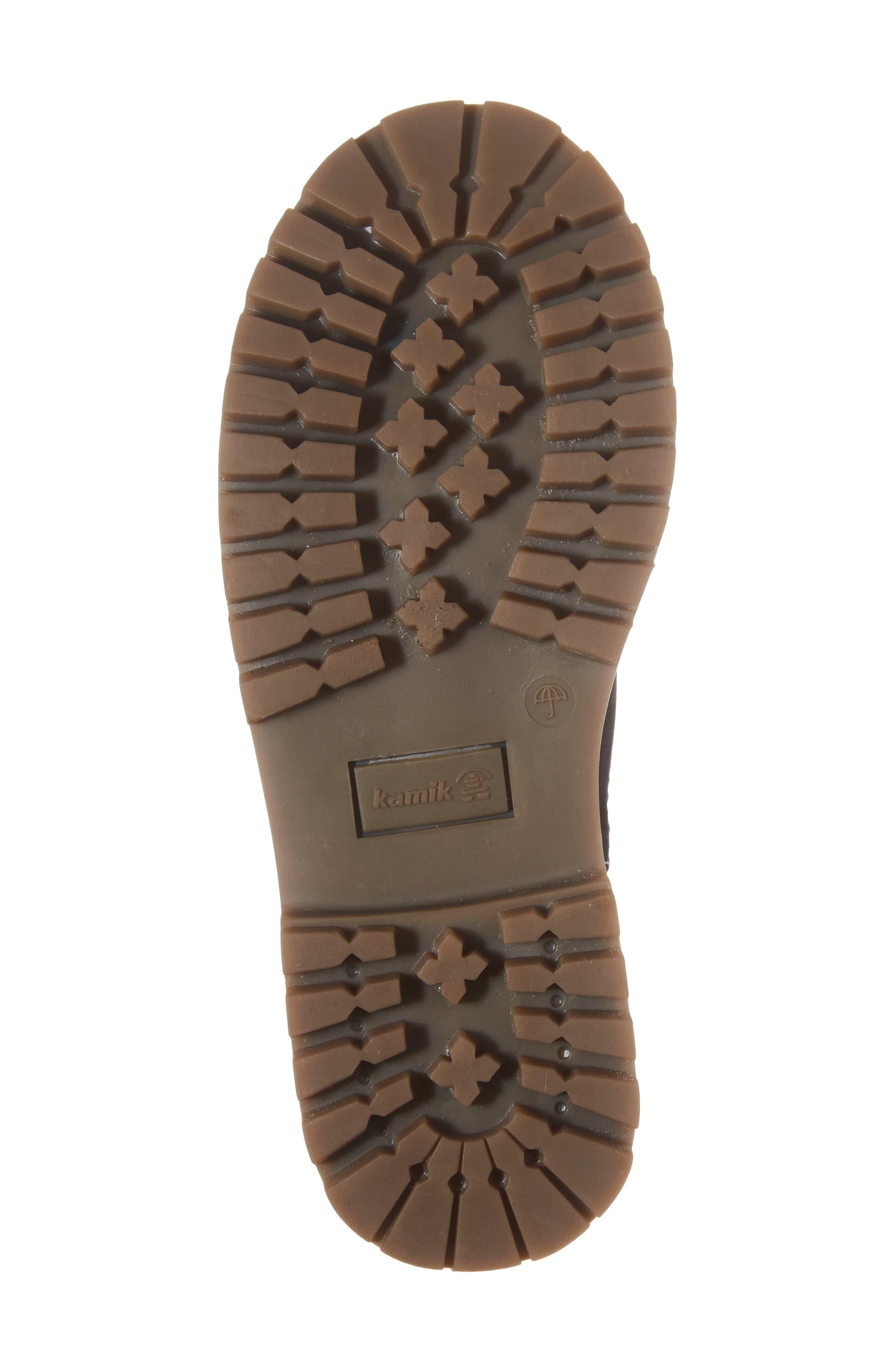 TakodaC Waterproof Chelsea Boot,                             Alternate thumbnail 6, color,                             010