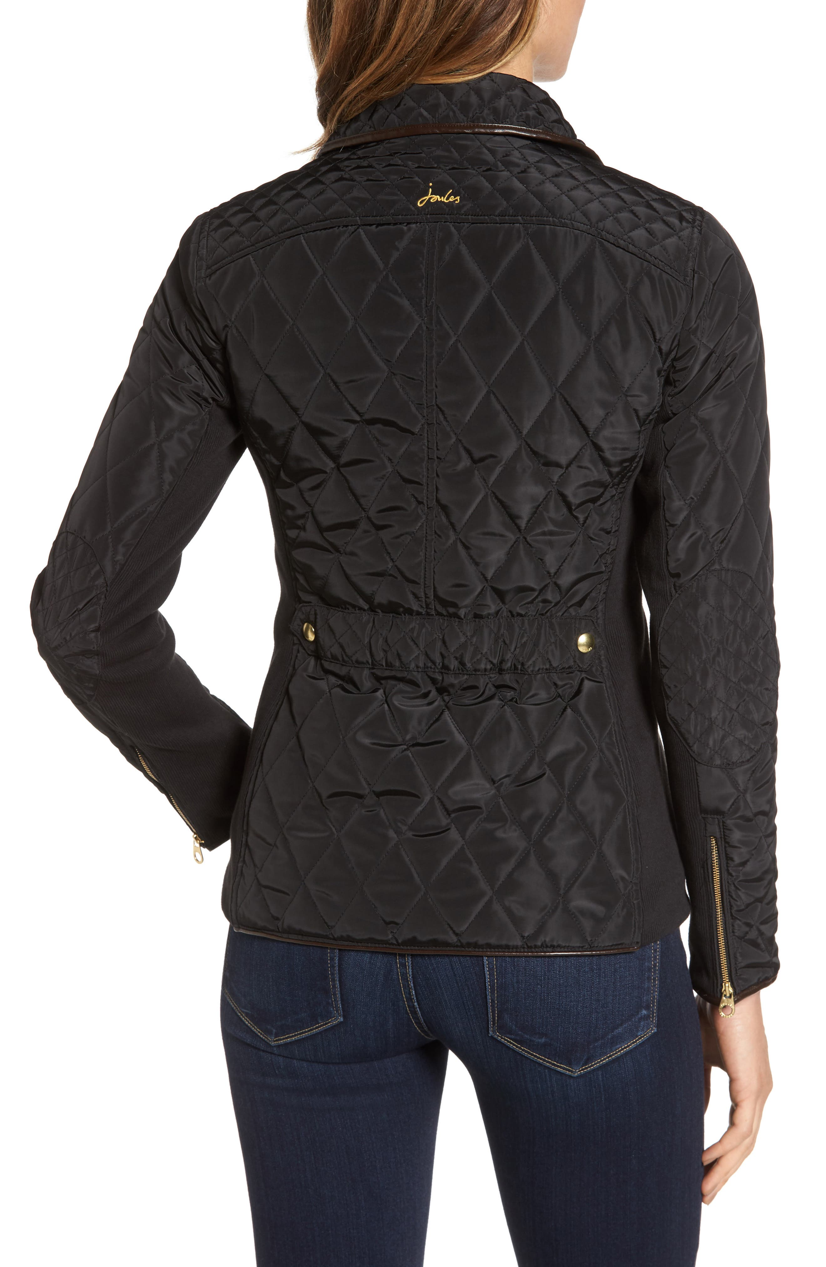 Warm Welcome Quilted Jacket,                             Alternate thumbnail 2, color,                             001